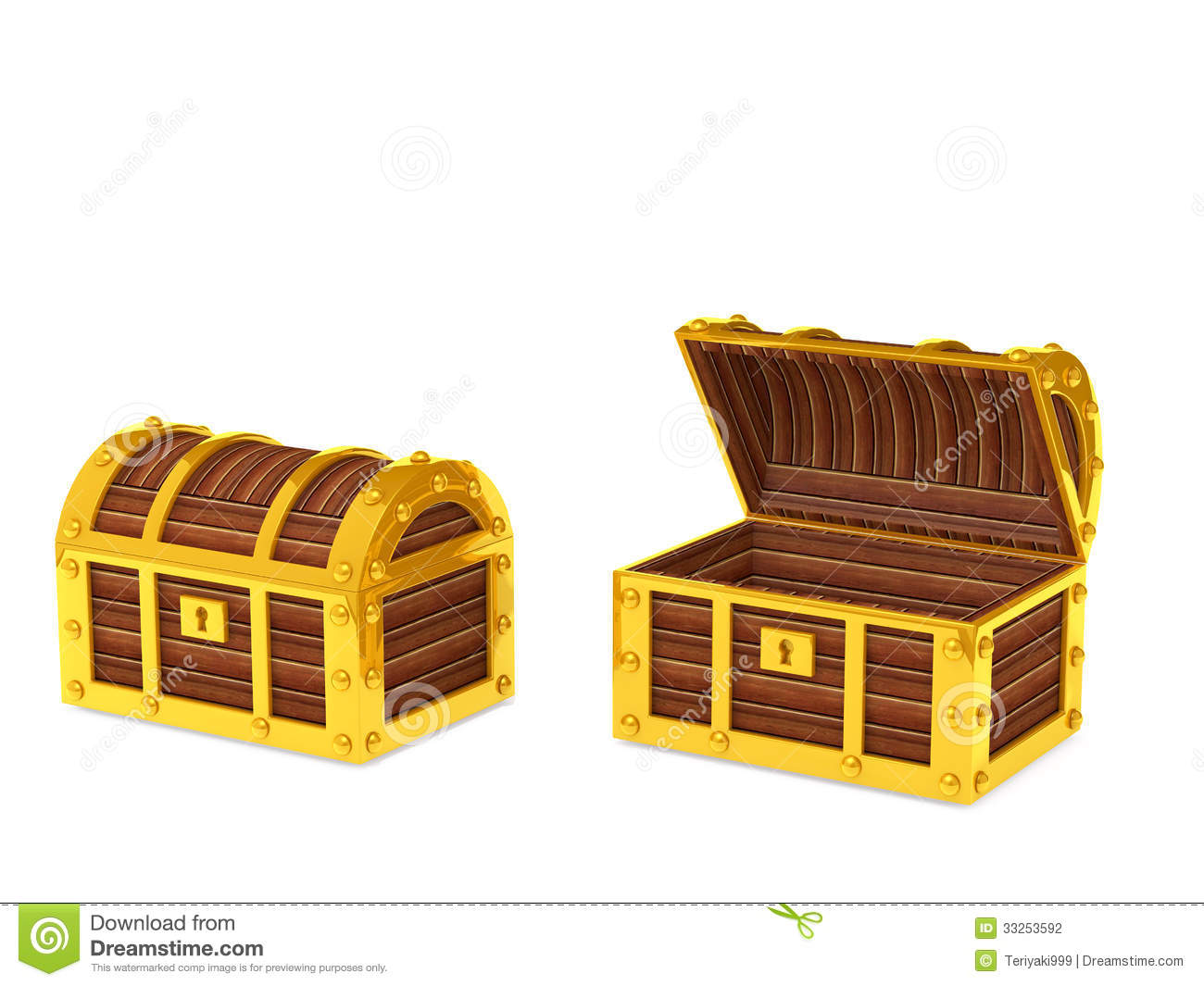 Treasure Box Stock Photography - Image: 33253592