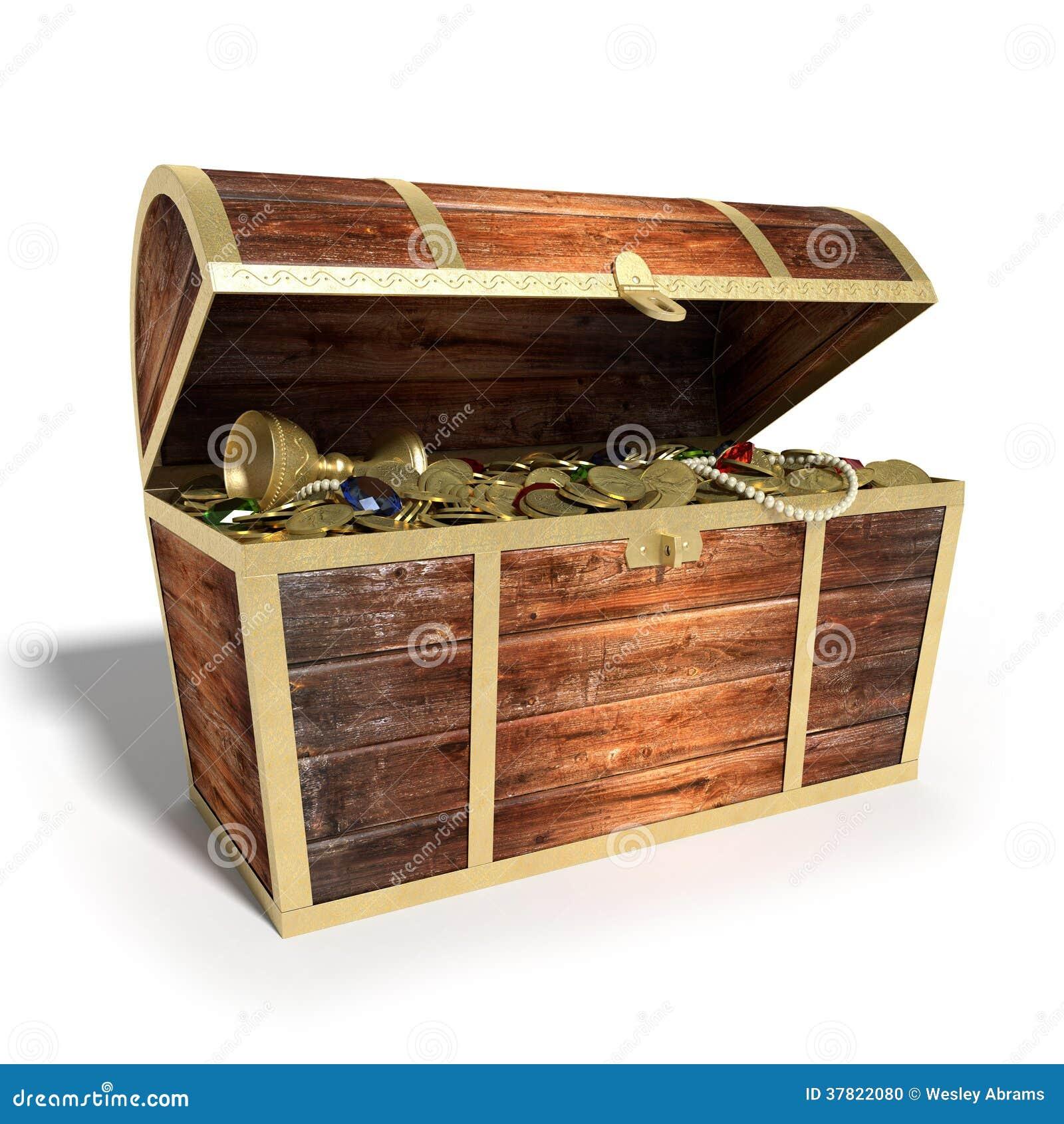 Treasure Chest Stock Photo - Image: 37822080