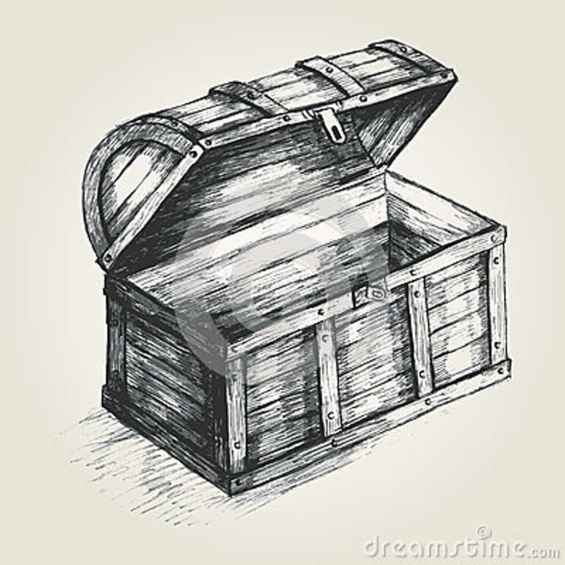 Treasure Chest Stock Vector - Image: 42847260