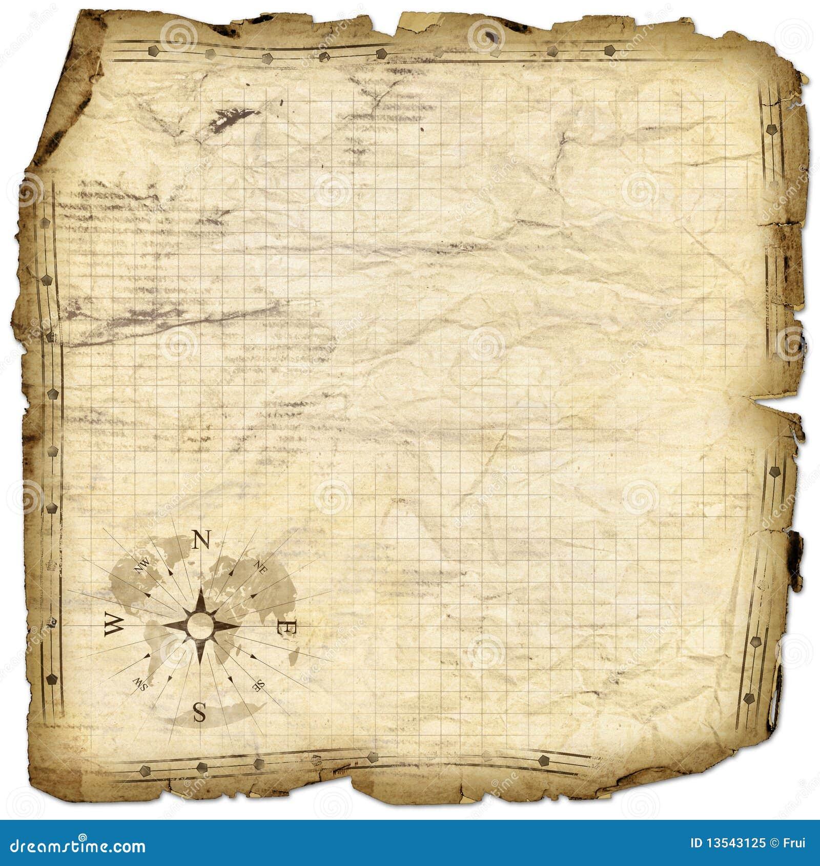 Treasure Map Royalty Free Stock Photo - Image: 13543125