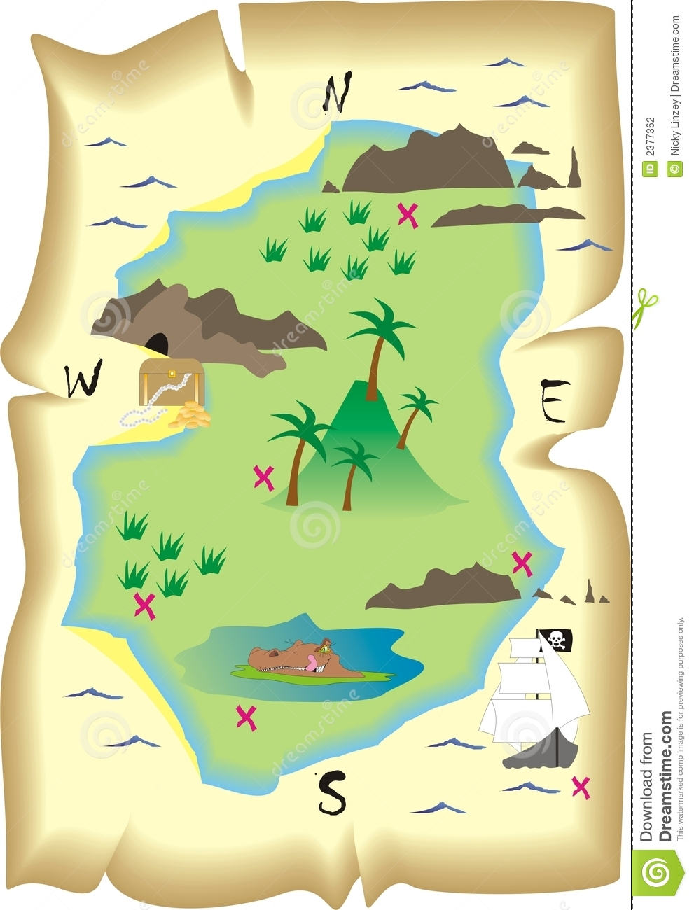 treasure map stock vector illustration of clues  find 2377362 treasure map background vector free download treasure island vector map