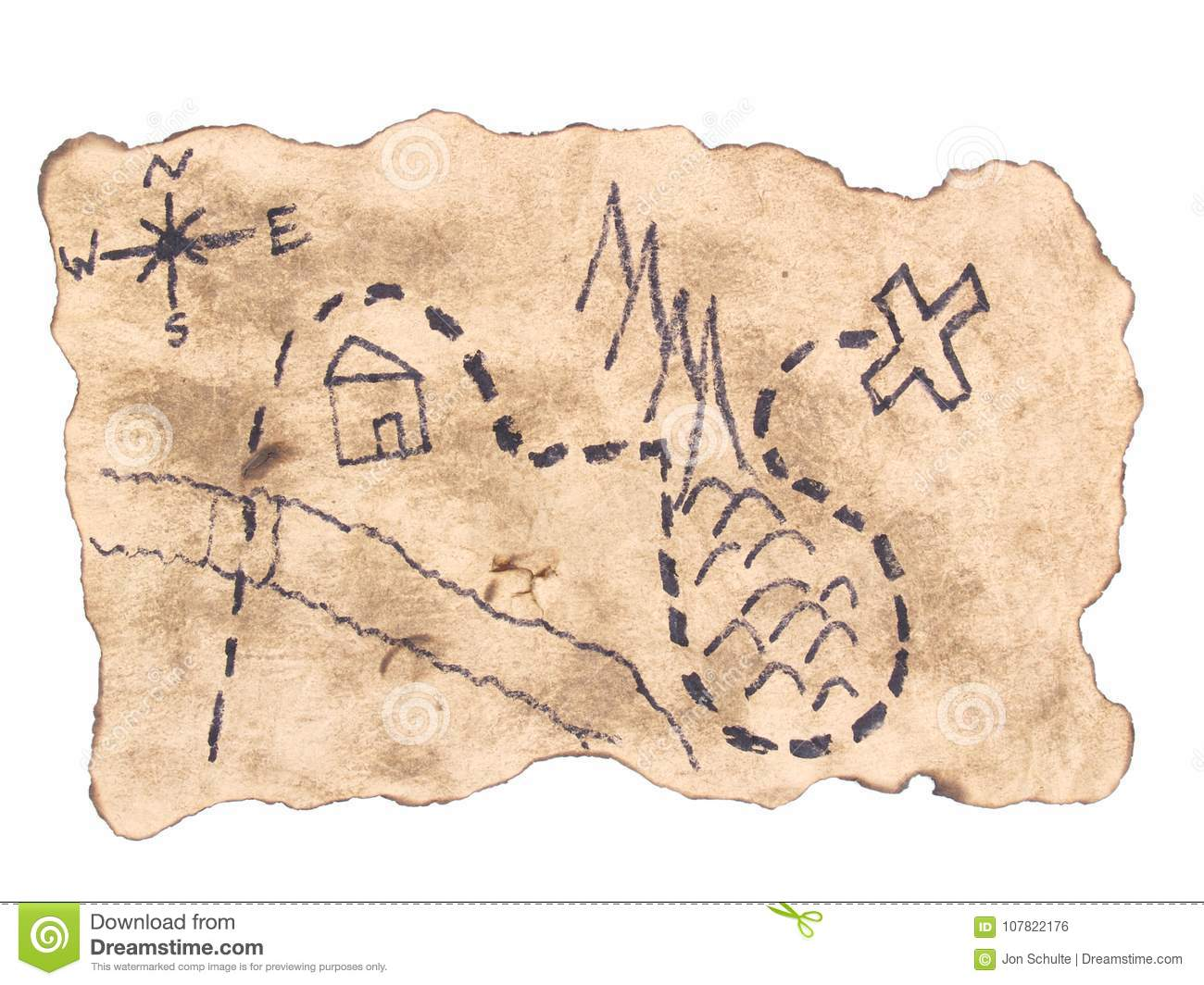 A Treasure Map To Find Gold Stock Photo - Image of treasure ... on a map of jupiter, a map of life, a map of love, a map of odyssey, a map of home, a map of sahara, a map of cascade, a map of time, a map of roosevelt, a map of ocean,