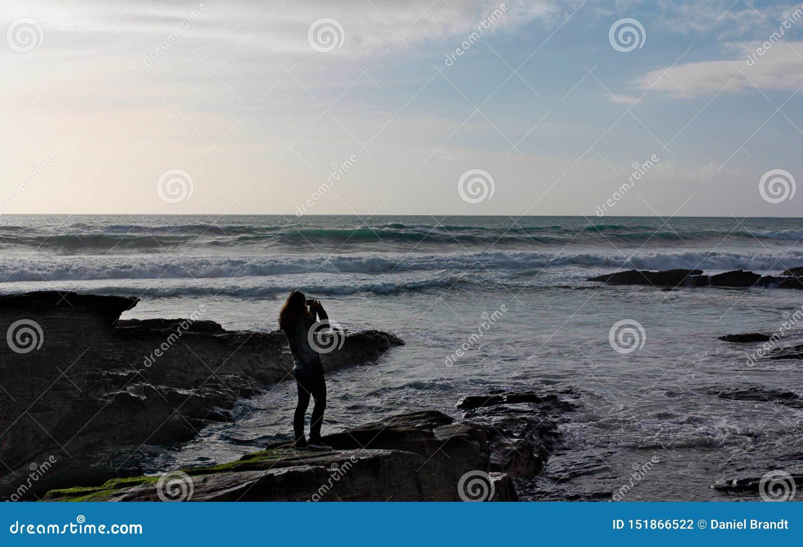 Trebarwith trådintryck - Cornwall