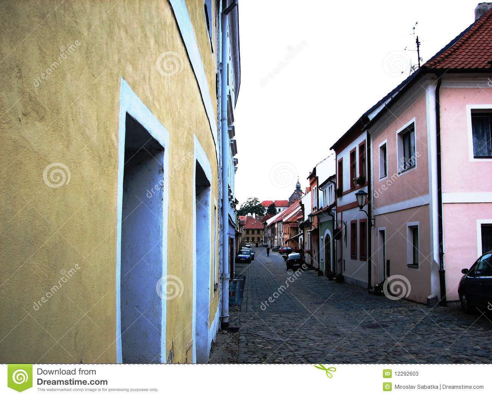 Europa Czech Republic Trebic Jewish Town Unesco