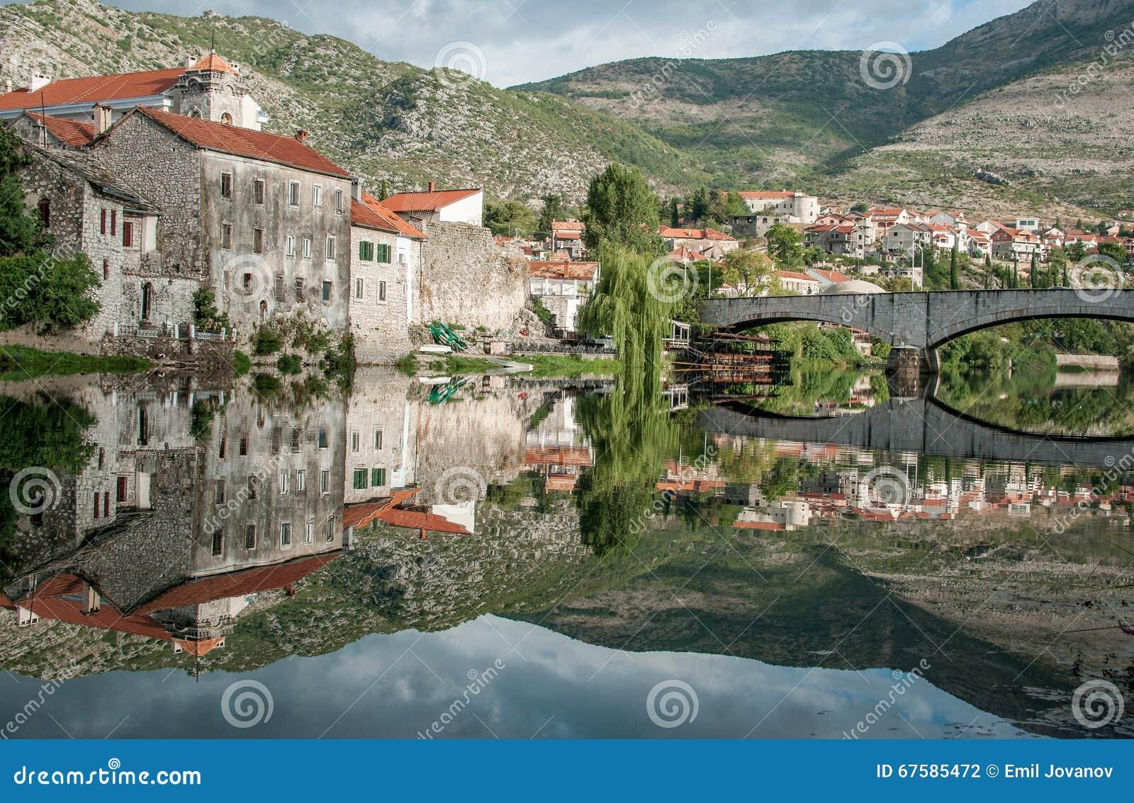 trebinje eine stadt in bosnien und herzegowina stockfoto bild von flu balkan 67585472. Black Bedroom Furniture Sets. Home Design Ideas