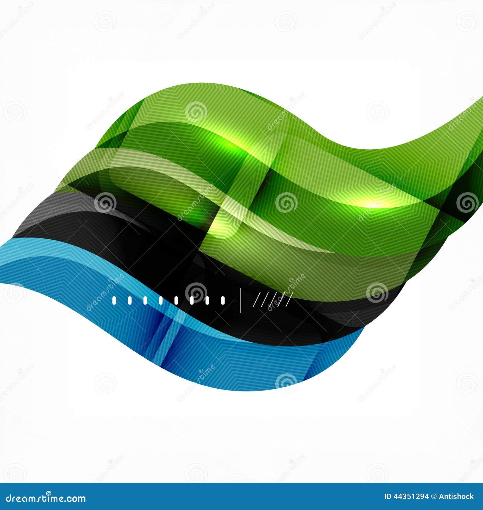 Treccia futuristica che guarda il fondo dell onda