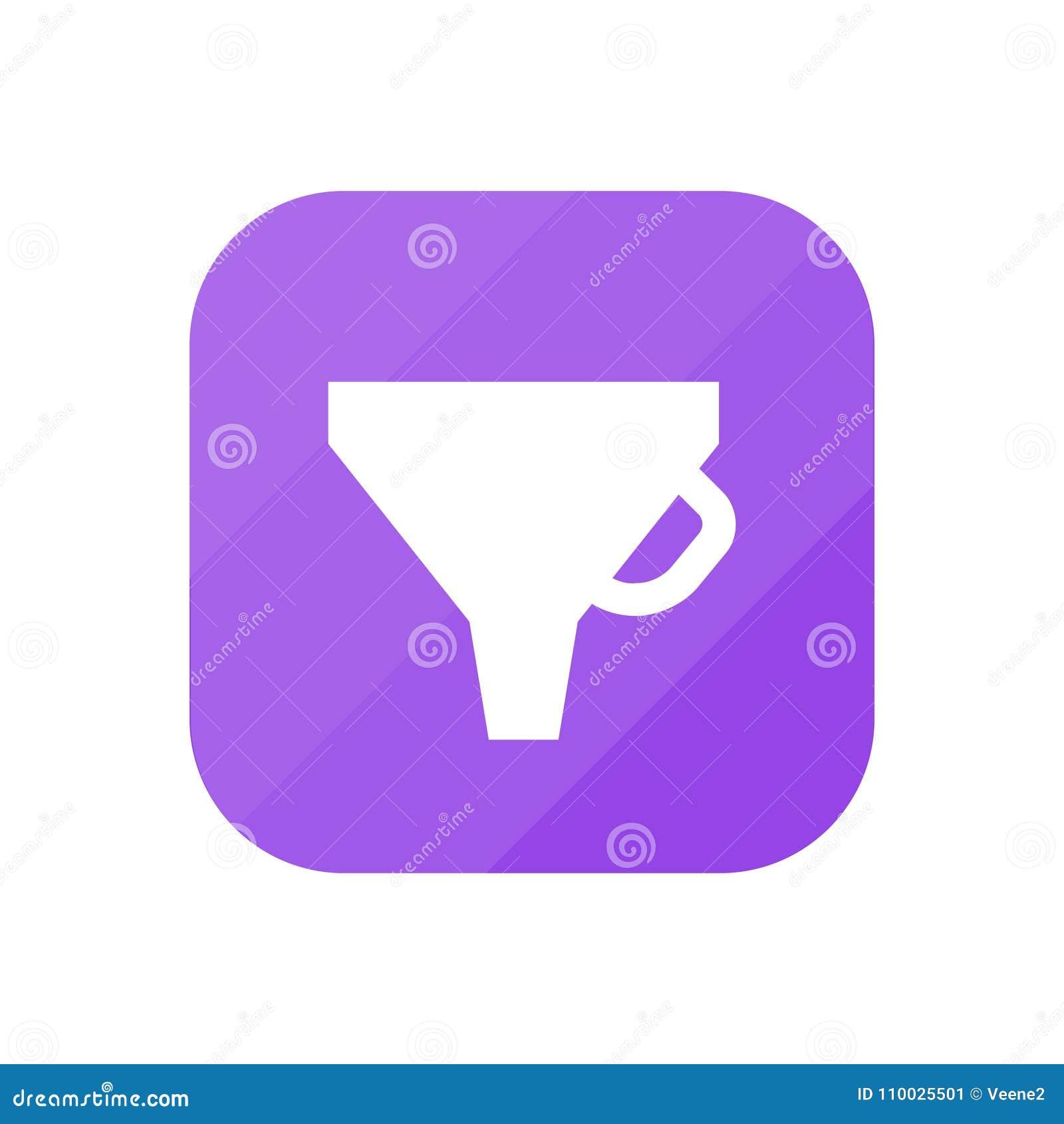 Trechter - App Pictogram