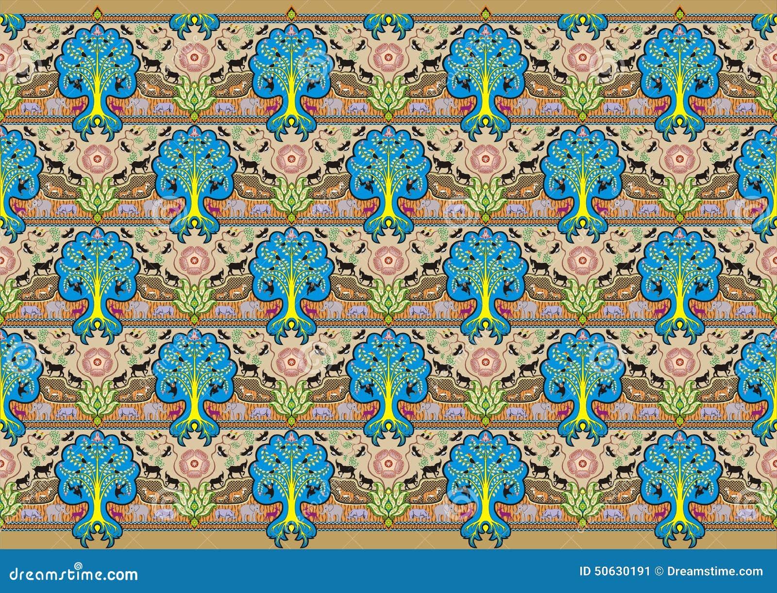 Batik design royalty free stock photos image 29546988 - Tree Batik Decoration Motif Stock Image