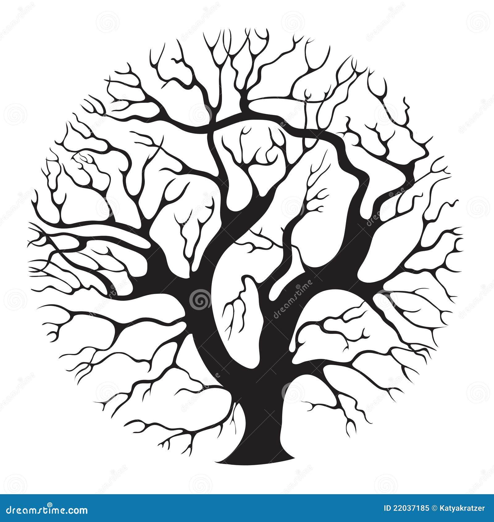 Tree circle Royalty Free Stock Photo Image 22037185