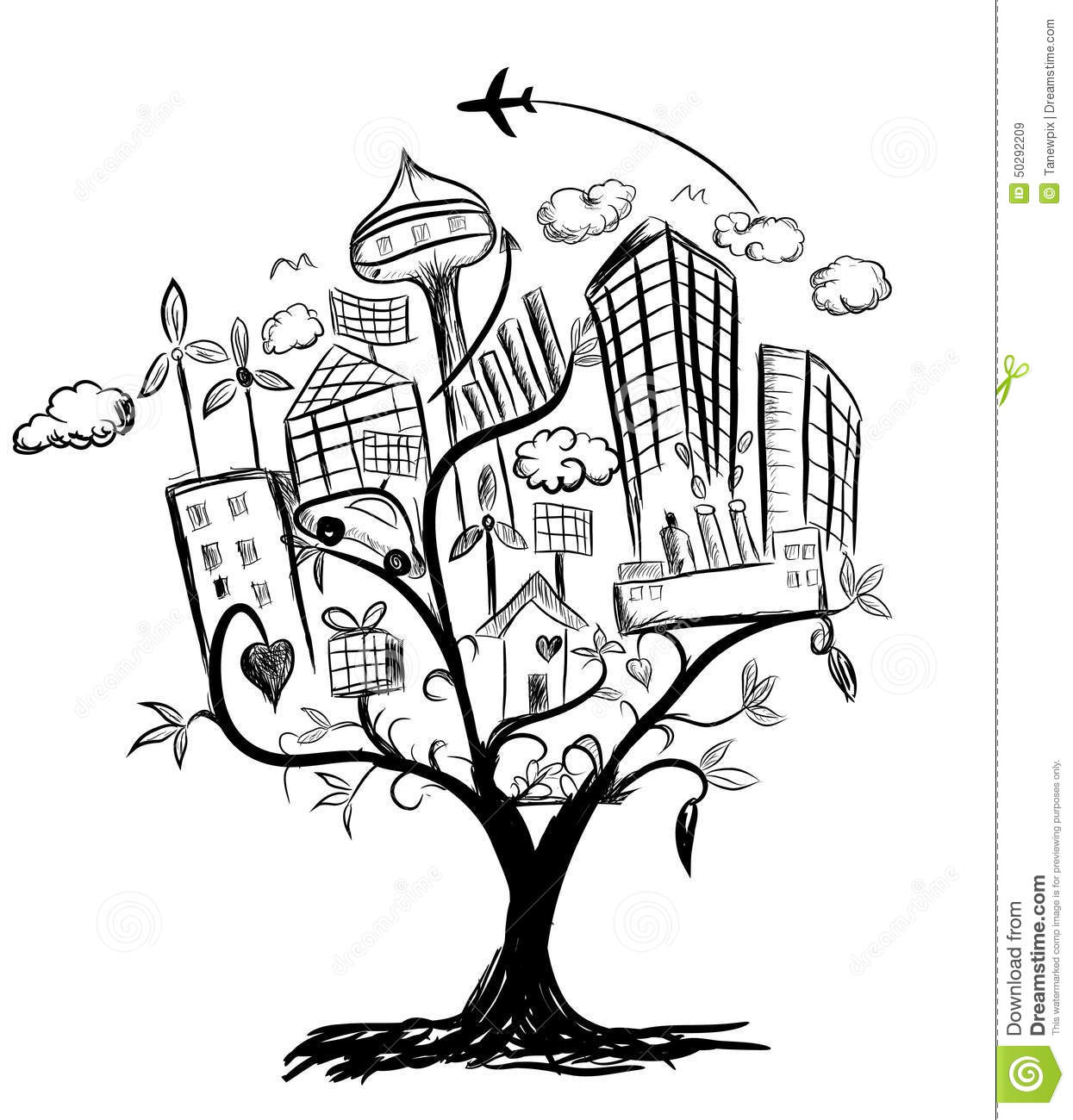 Free Coloring Pages Of Tree With Roots