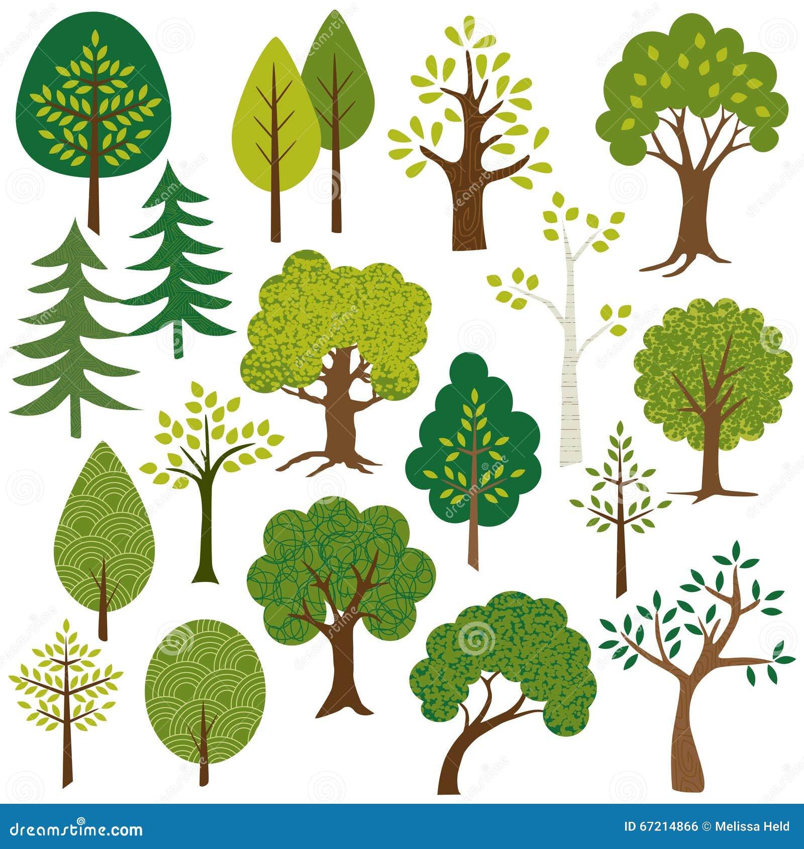 Tree Clip Art stock illustration. Illustration of clipart ...