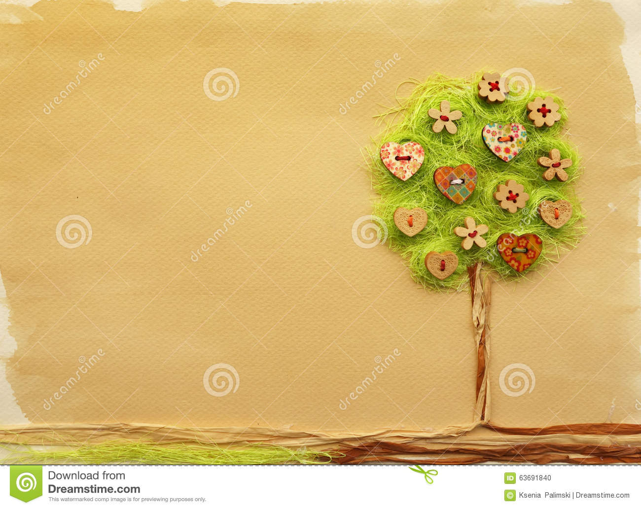 Tree Craft Stock Illustration Illustration Of Green 63691840