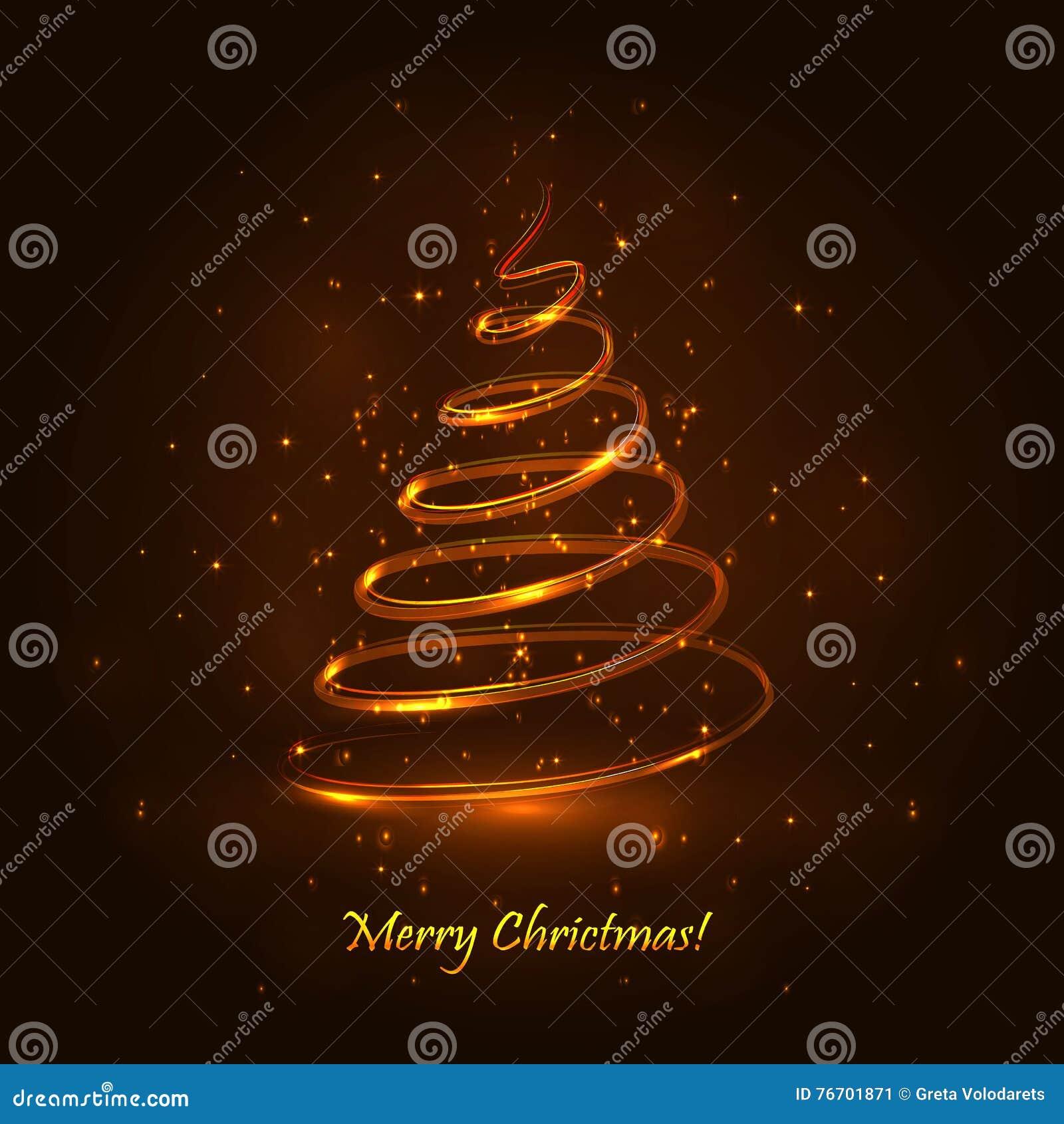 Tree för regnbåge för julfärger magisk wallpaper för bakgrundsfärgguld s