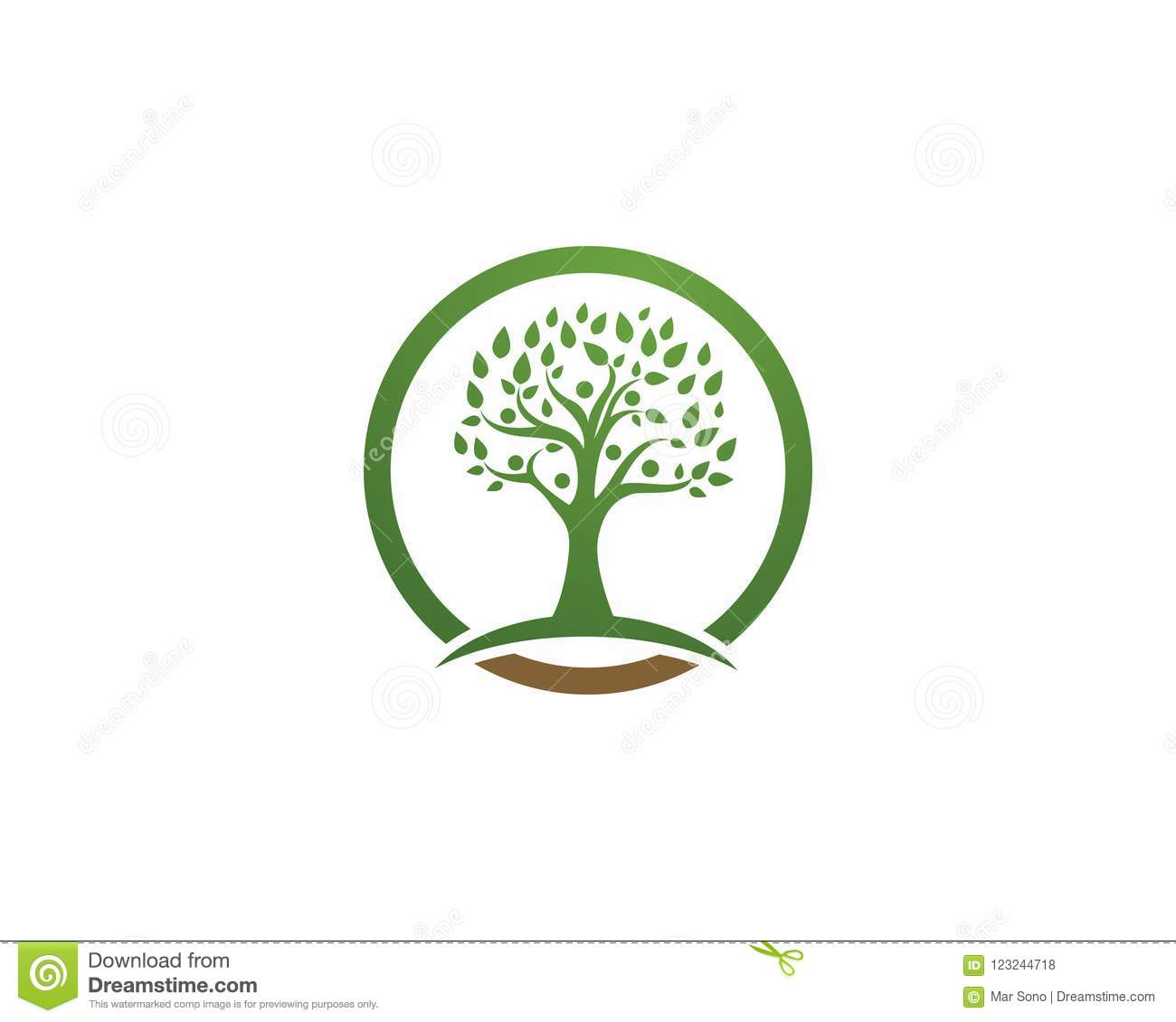 Tree green people identity vector logo template stock vector download tree green people identity vector logo template stock vector illustration of people hold maxwellsz