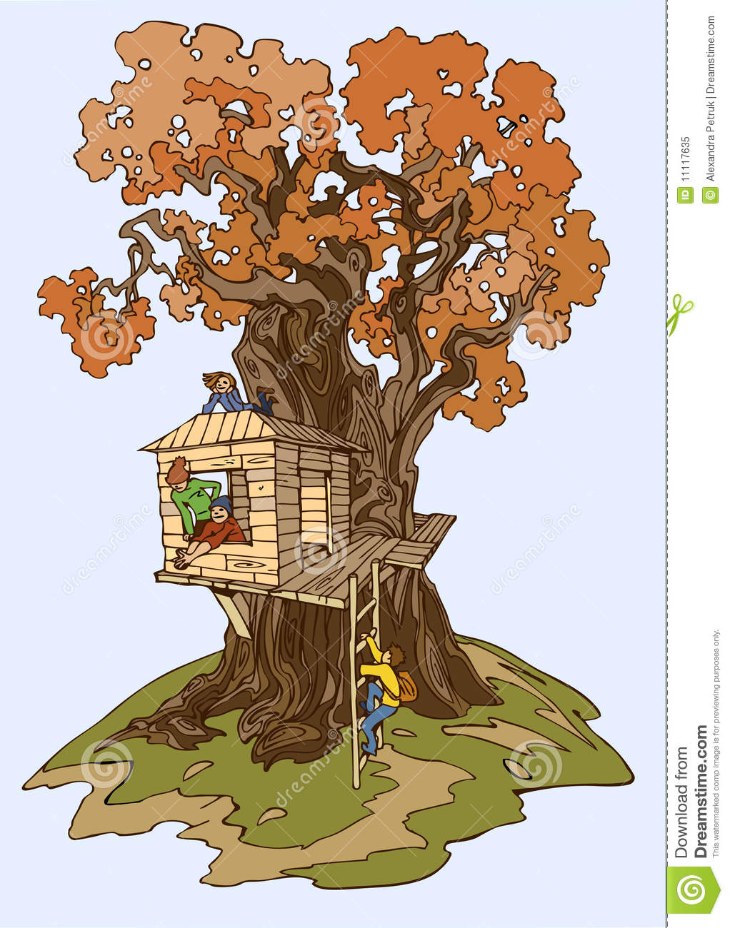 clipart pictures tree house - photo #43