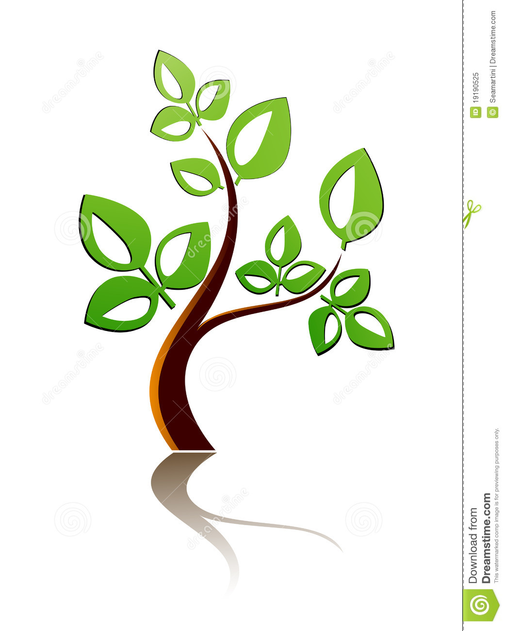 Tree Icon Royalty Free Stock Photo - Image: 19190525