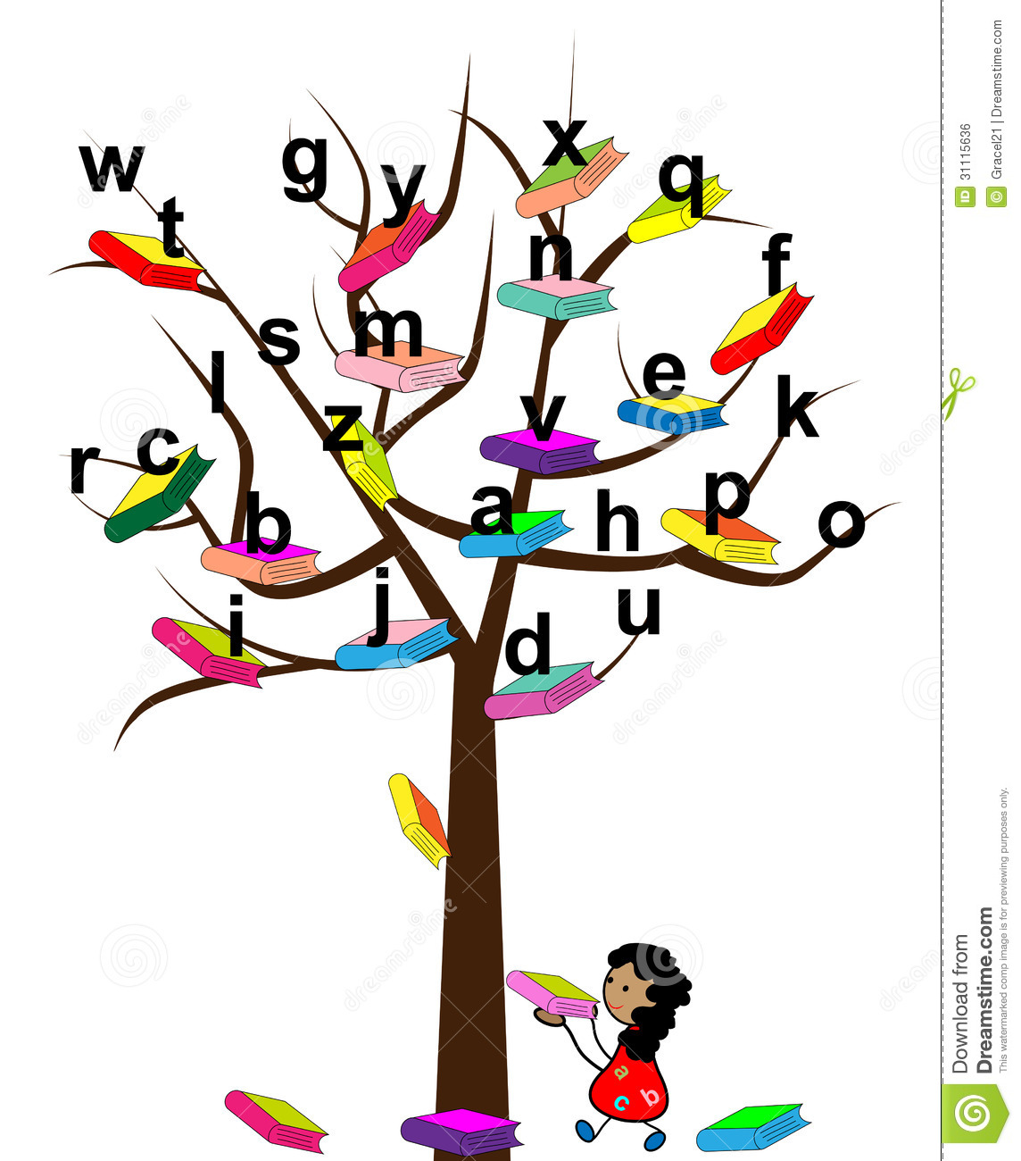 book tree clipart - photo #22