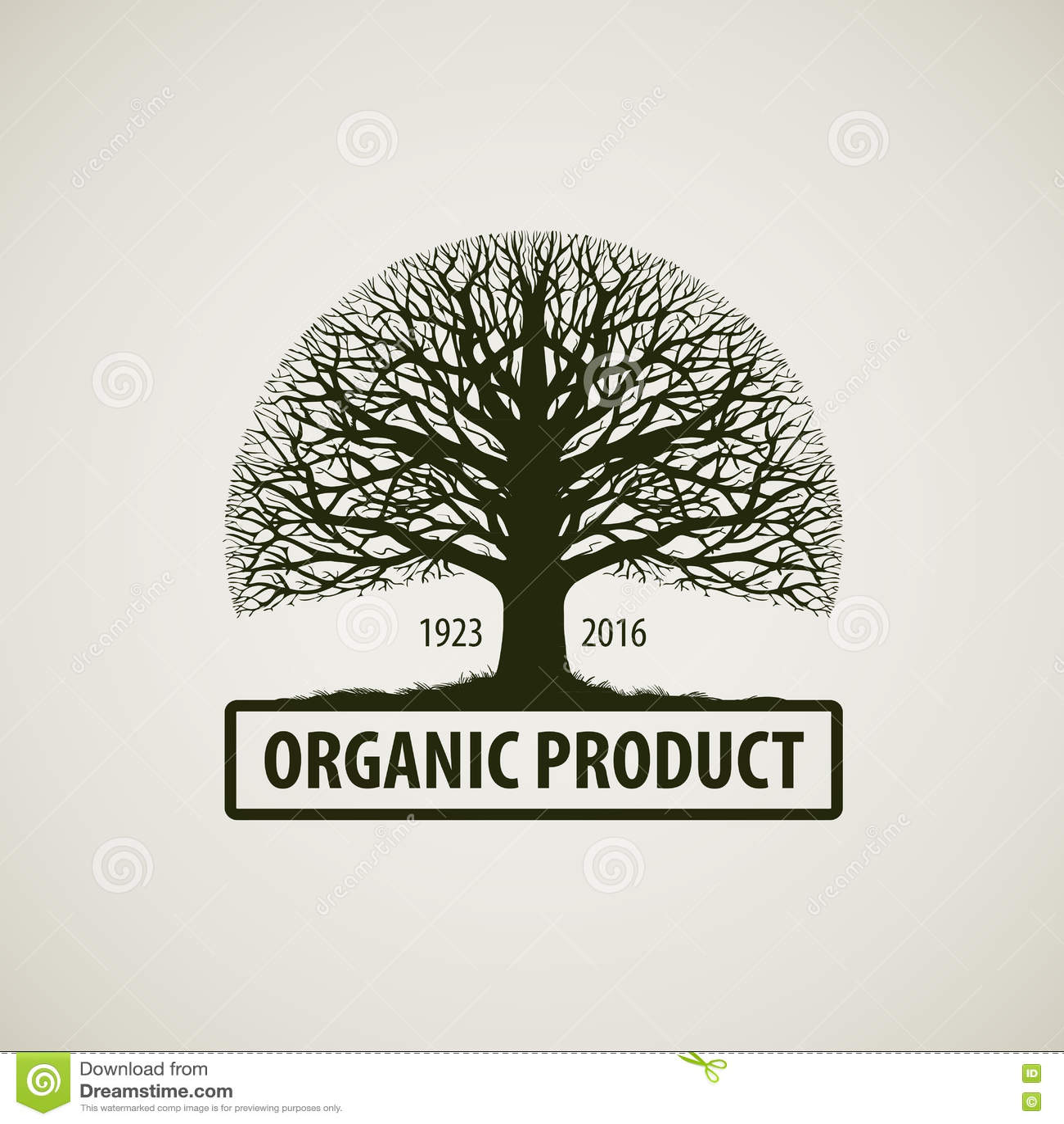 ecology family tree logo cartoon vector