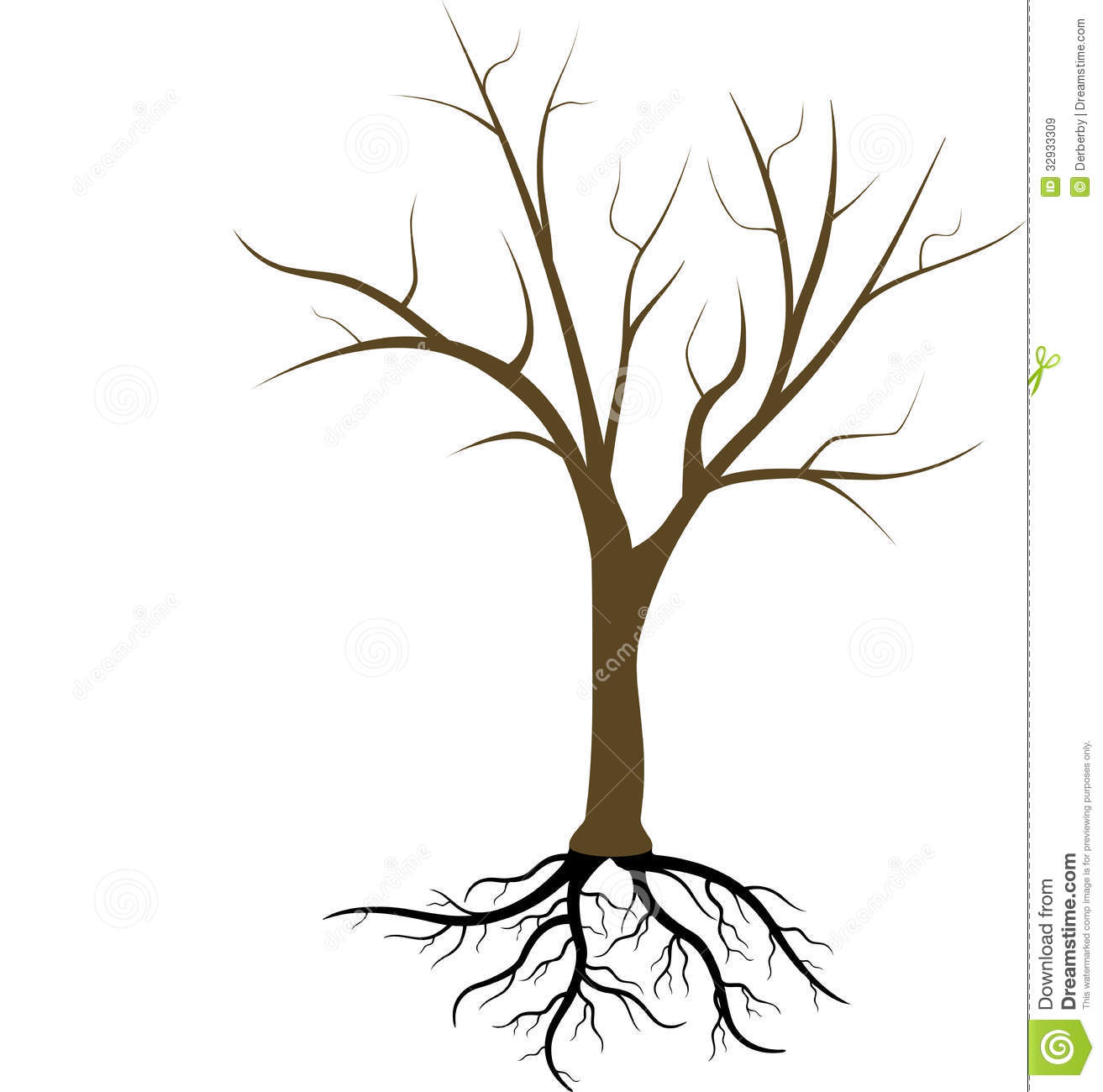 Tree Without Leaves Royalty Free Stock Images - Image ...