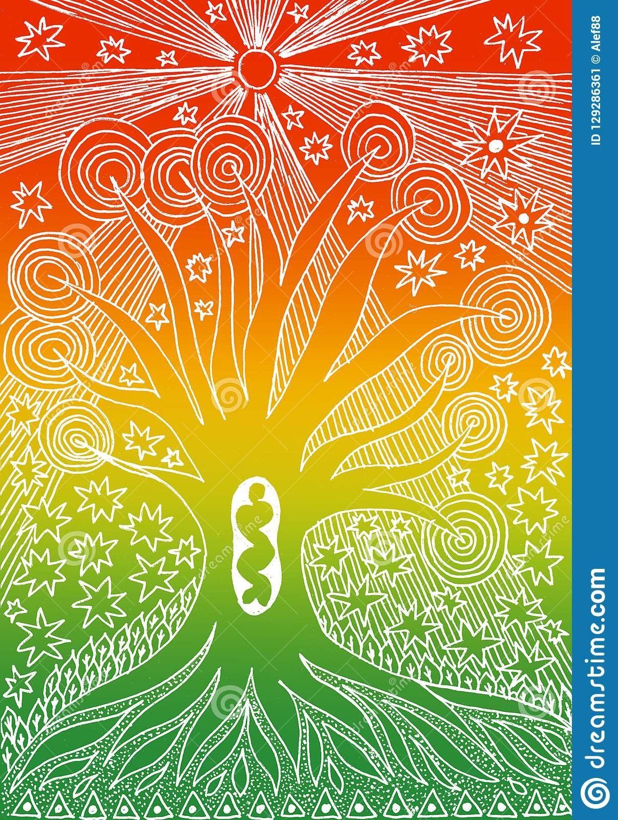 the tree of life graphic art graceful drawing manual graphics
