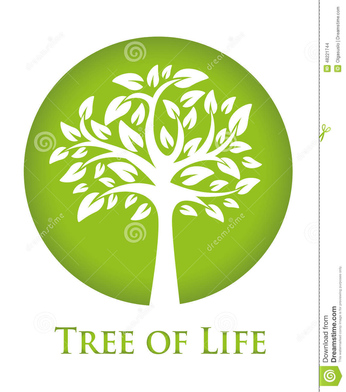 tree of life stock vector illustration of environmental 48221744