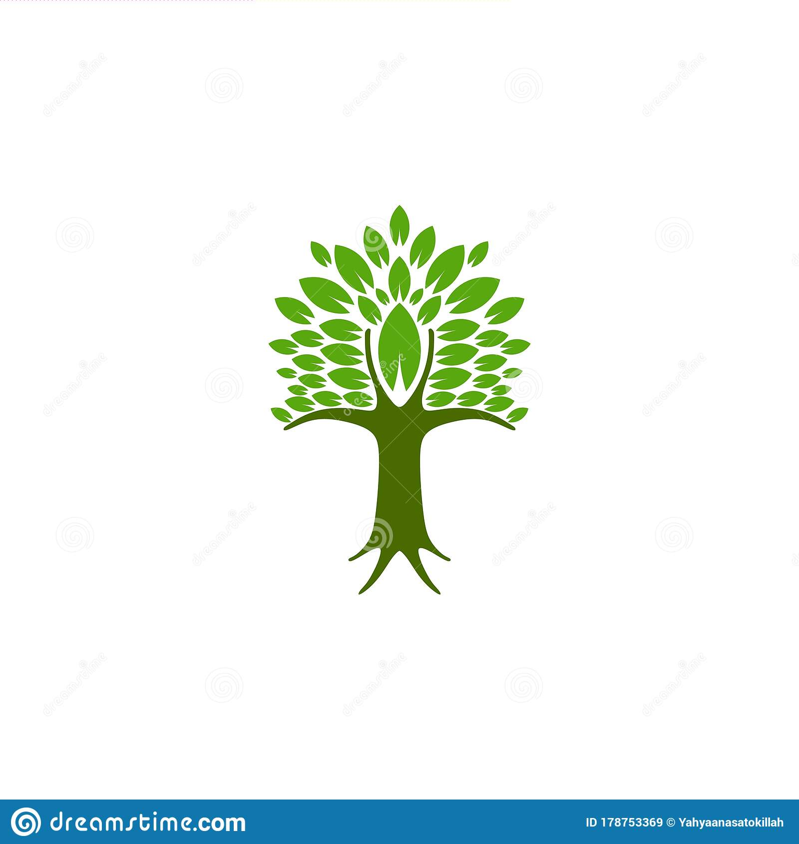 Tree Logo Ideas Inspiration Logo Design Template Vector Illustration Isolated On White Background Stock Vector Illustration Of Healthy Clever 178753369