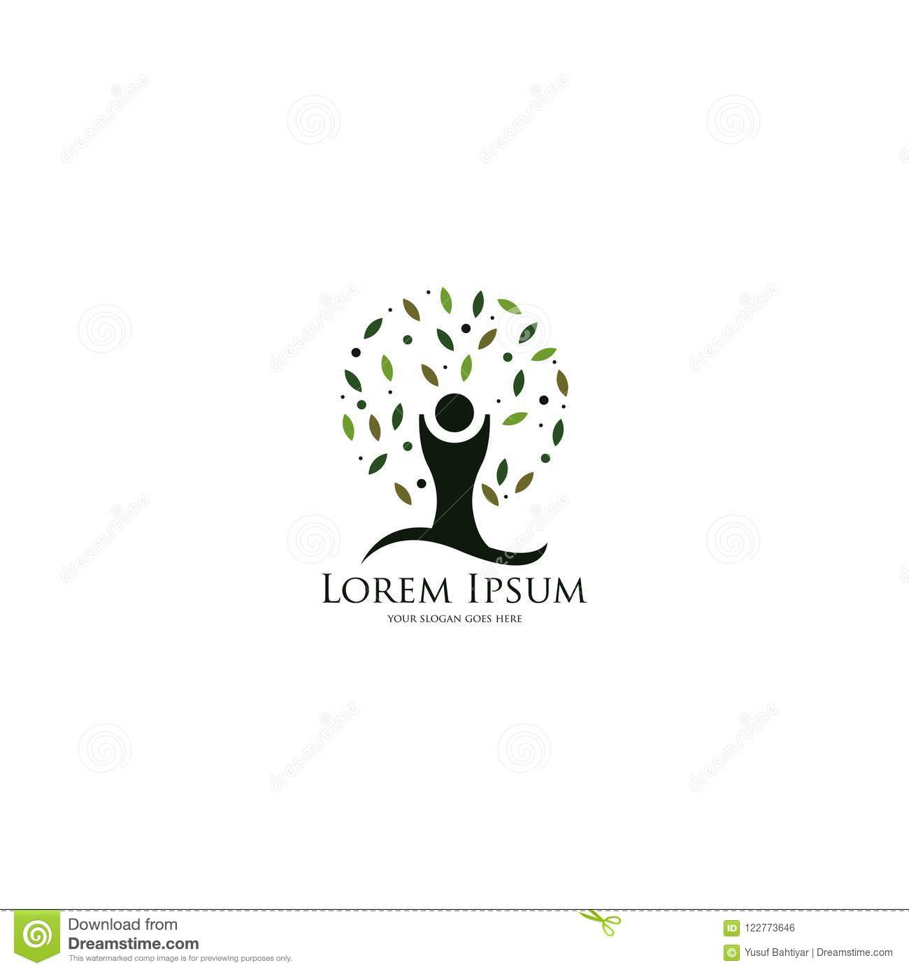 Tree logo template logo template for your business stock tree logo template logo template for your business friedricerecipe Choice Image