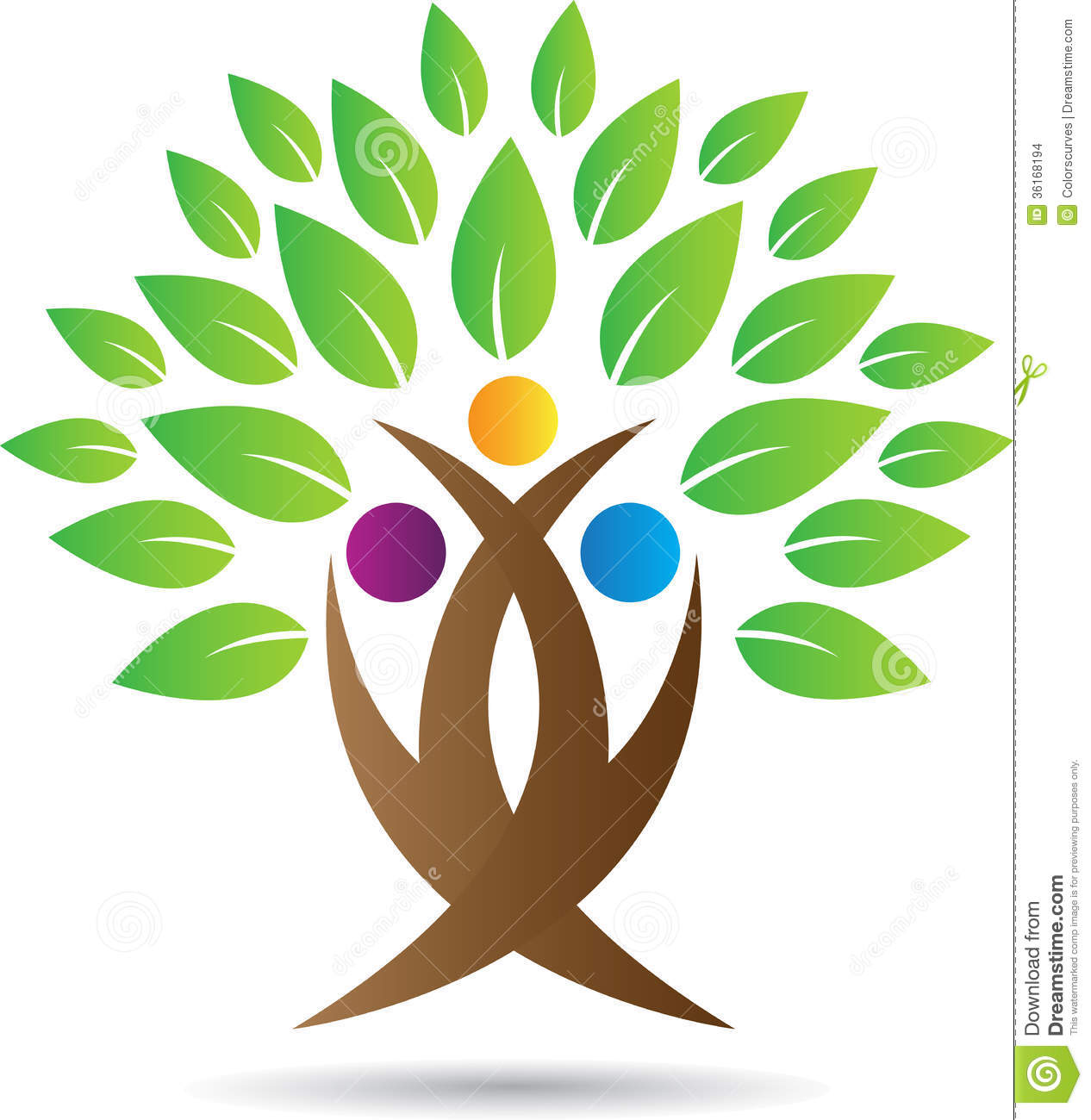 tree logo stock vector illustration of card  agriculture 36168194 free family reunion tree clip art free family reunion tree clip art