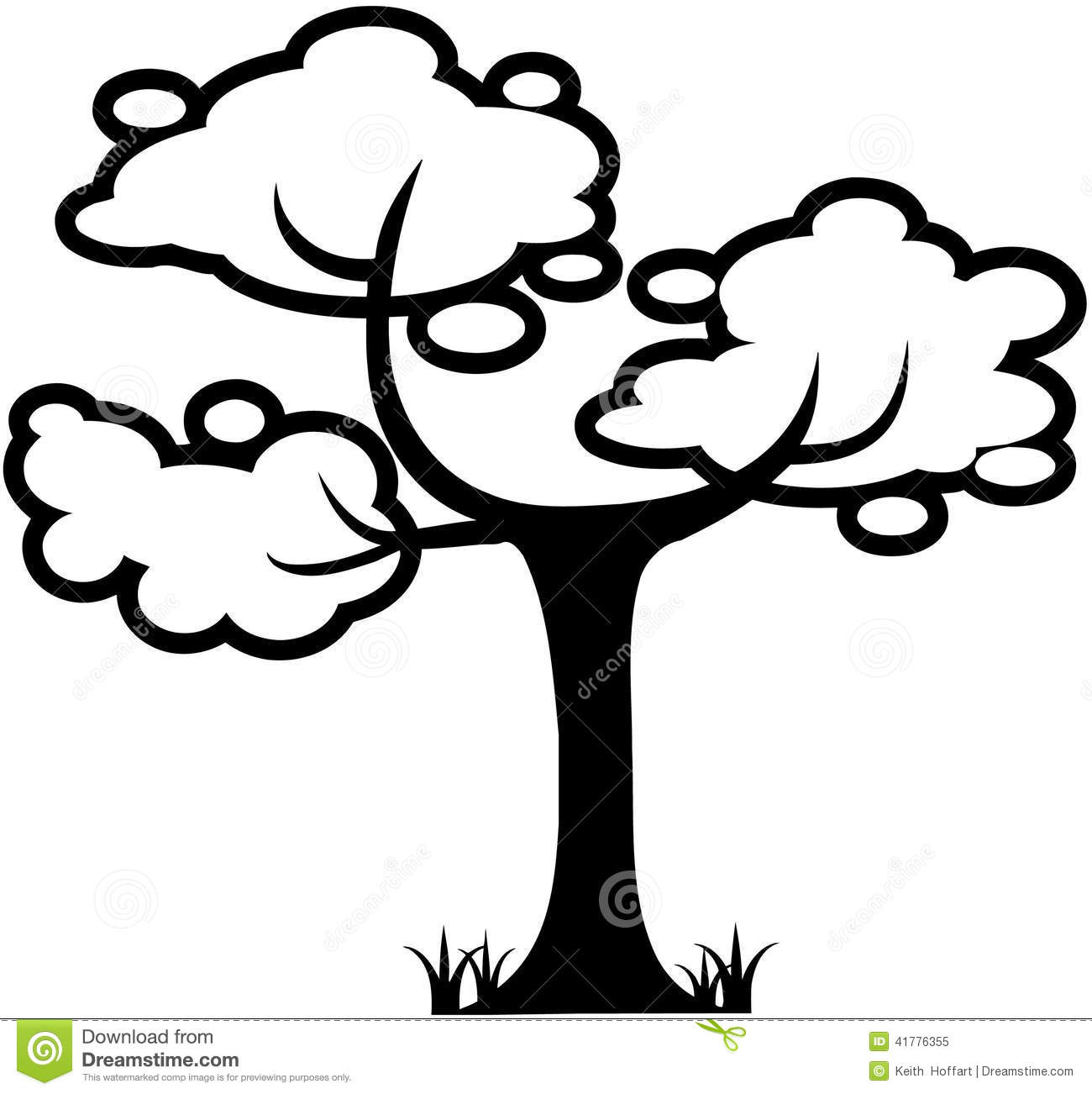 Tree Nature leaf cartoon How To Draw A Cartoon Tree Without Leaves
