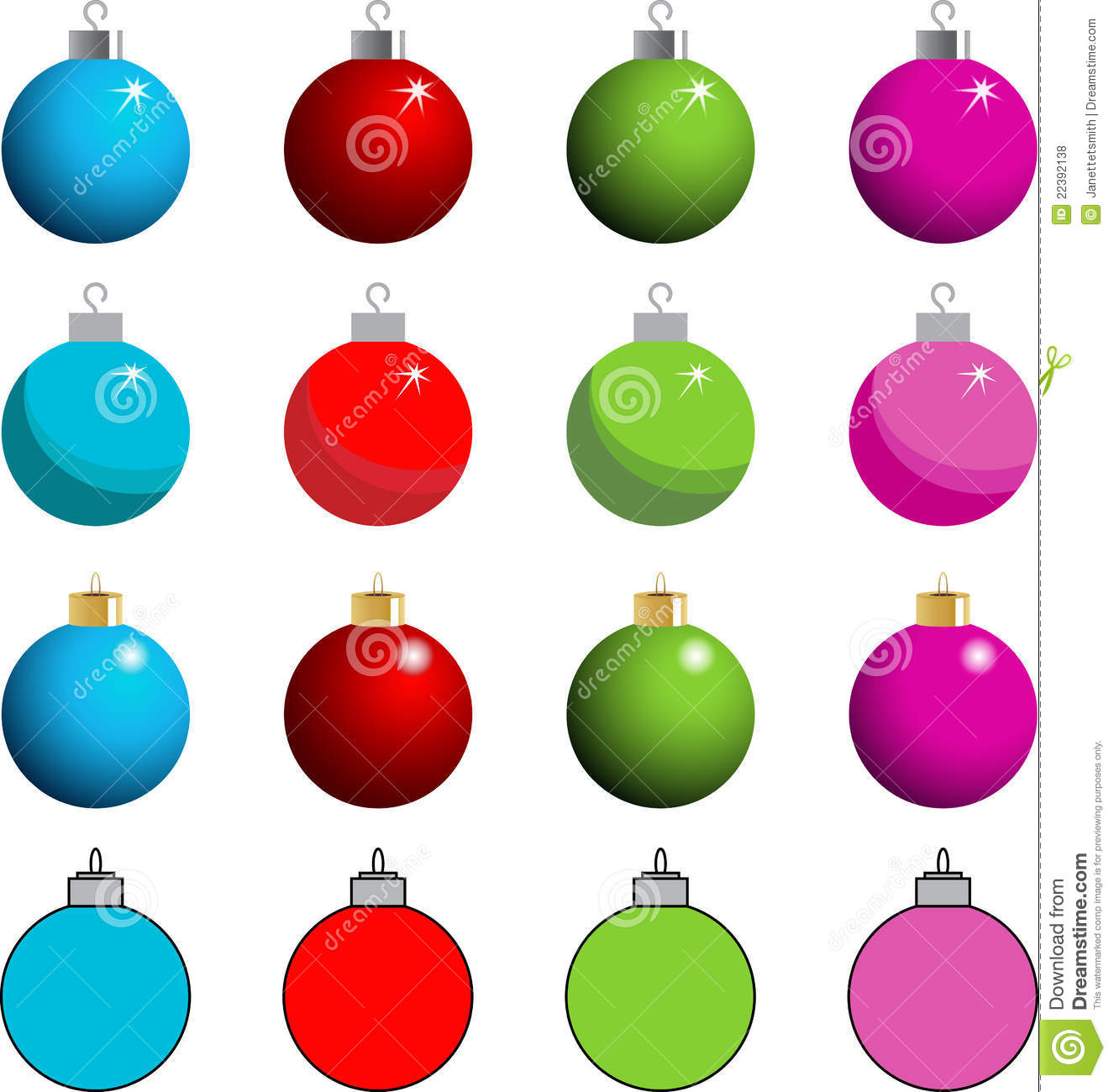 Tree Ornament Clipart Royalty Free Stock Photos - Image ...