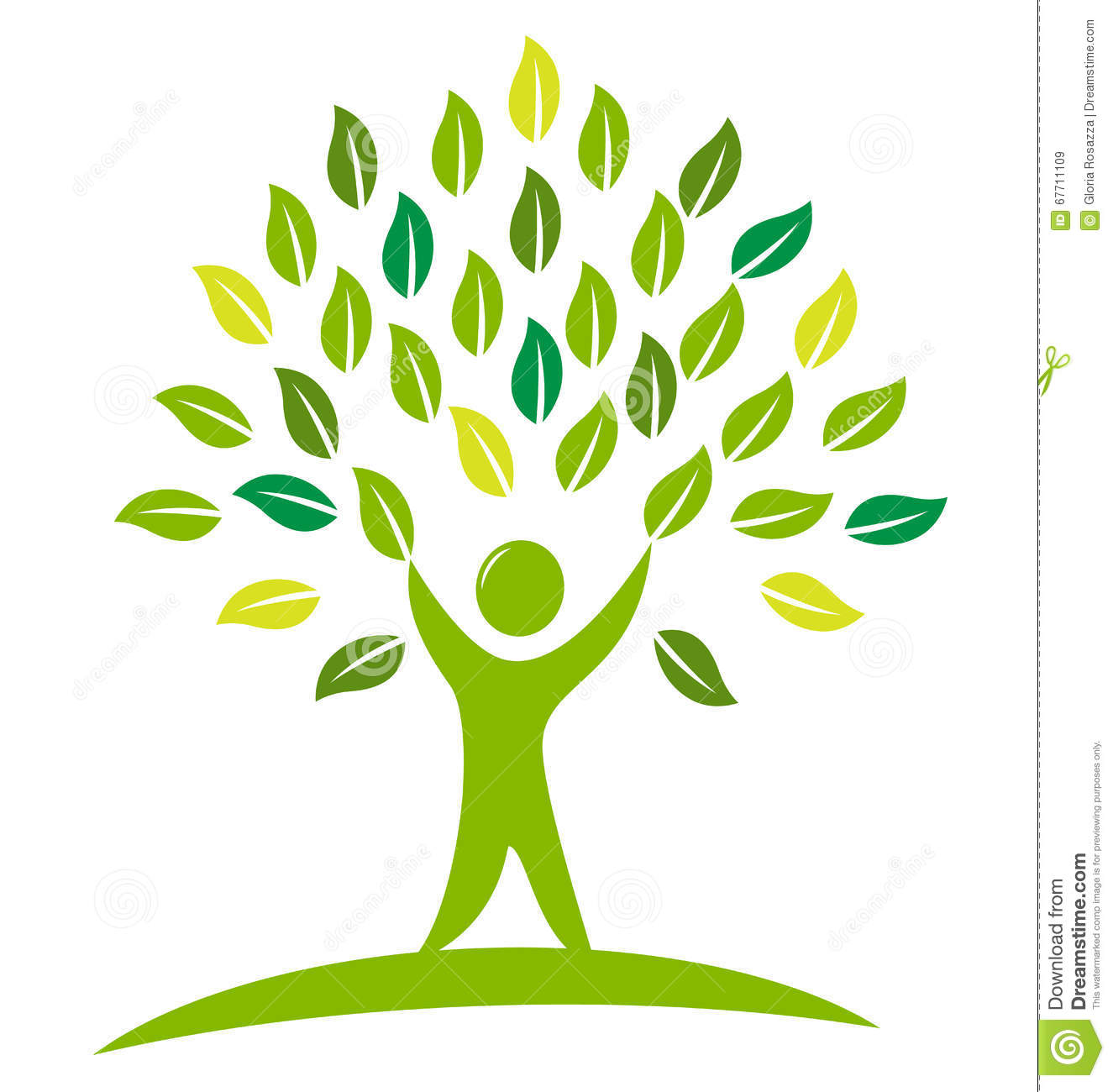 tree people logo stock vector image 67711109 free vector download flyer Free Wedding PSD Flyer