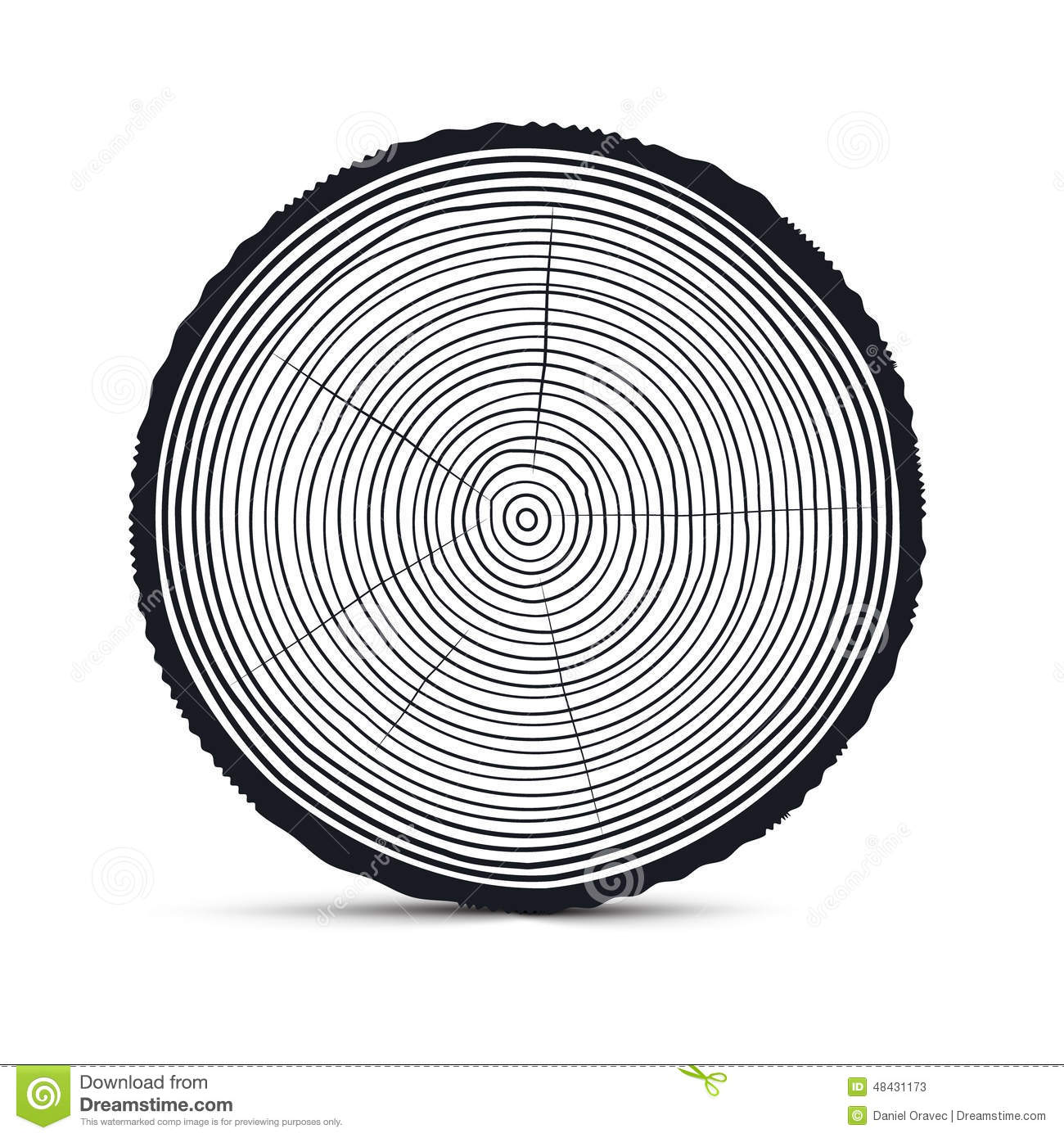 Tree Ring Outline Pic