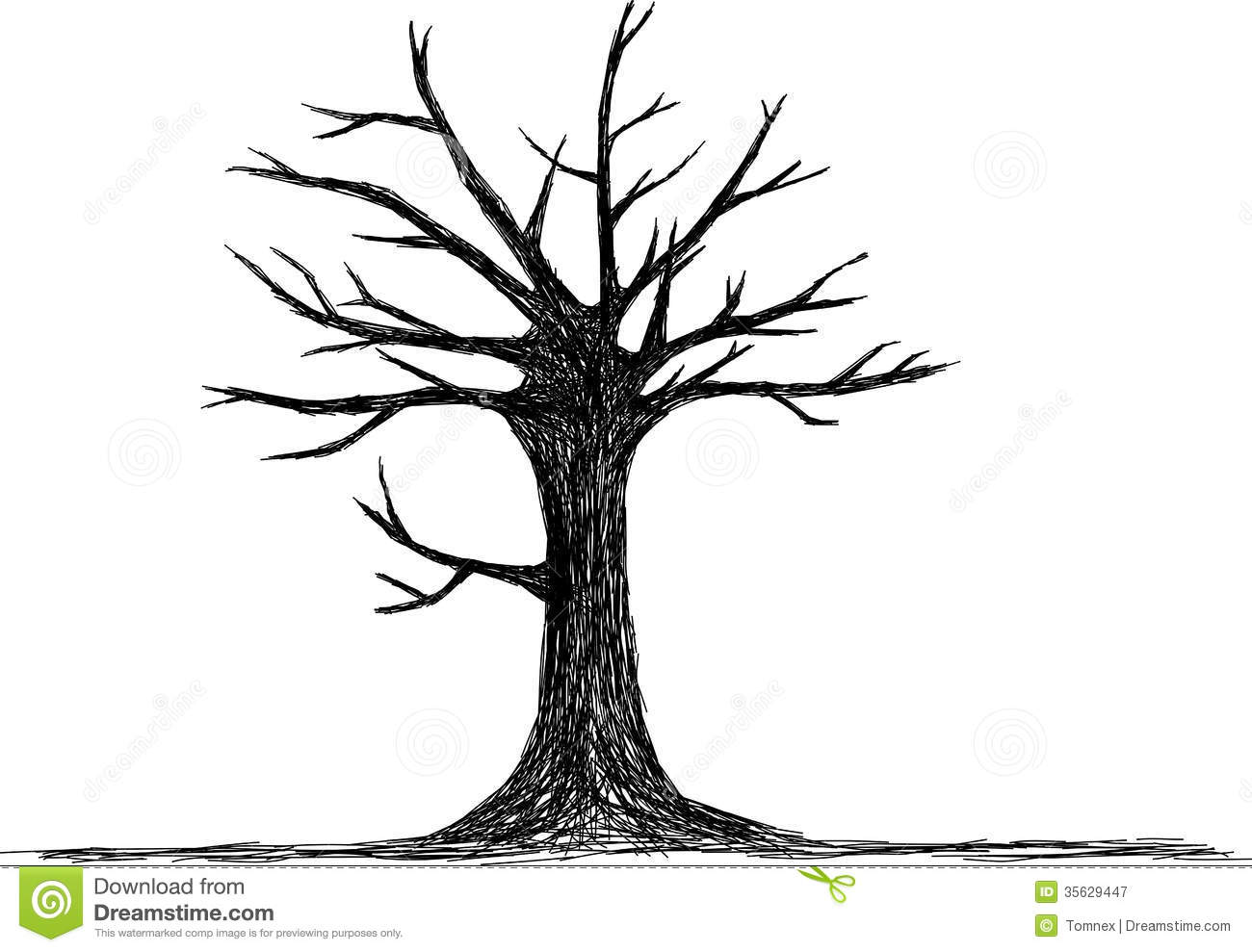 Tree Silhouette Royalty Free Stock Photography - Image ...