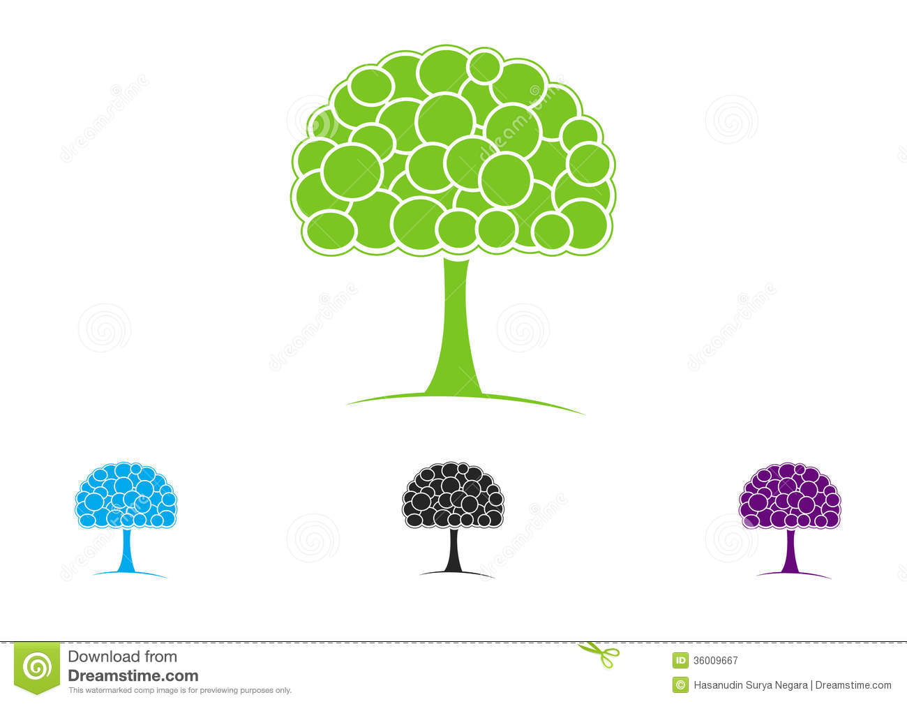 Trees clip art illustrations nature plants.