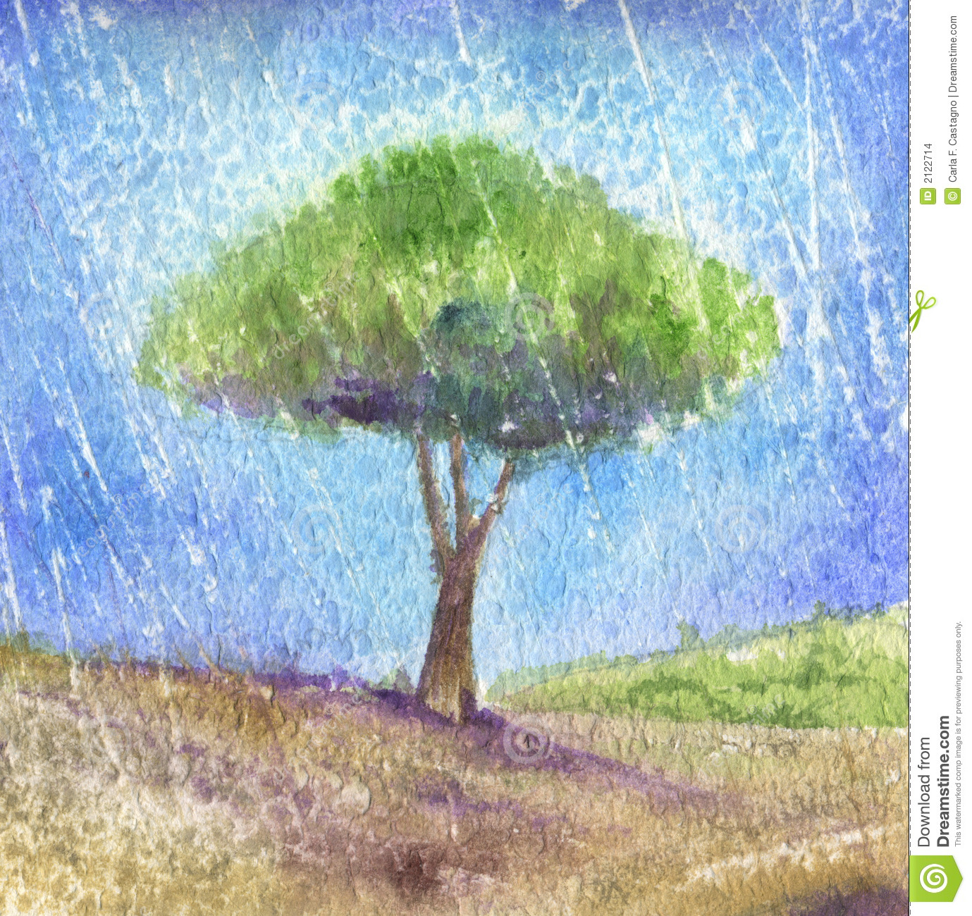 tree under the rain watercolor stock illustration clip art rainbow bridge clip art rainbow free