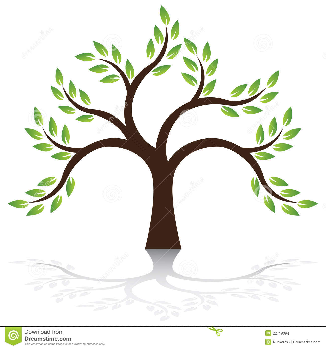 Tree Vector Stock Images - Image: 22718394