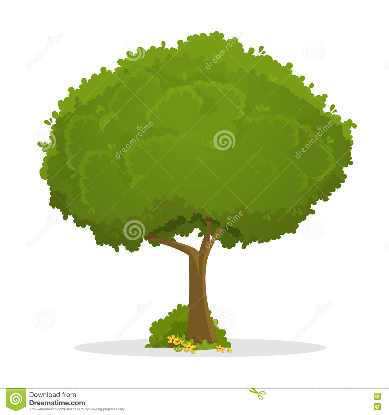 Tree Vector Illustration Stock Vector Illustration Of Card 71362252 It creates a festive mood and gives joy to you and your loved ones. dreamstime com