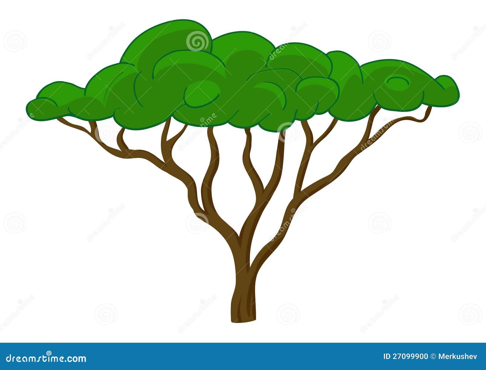 Clip Art African Tree Modern doodle zentangle contour illustration black. global perspectivess