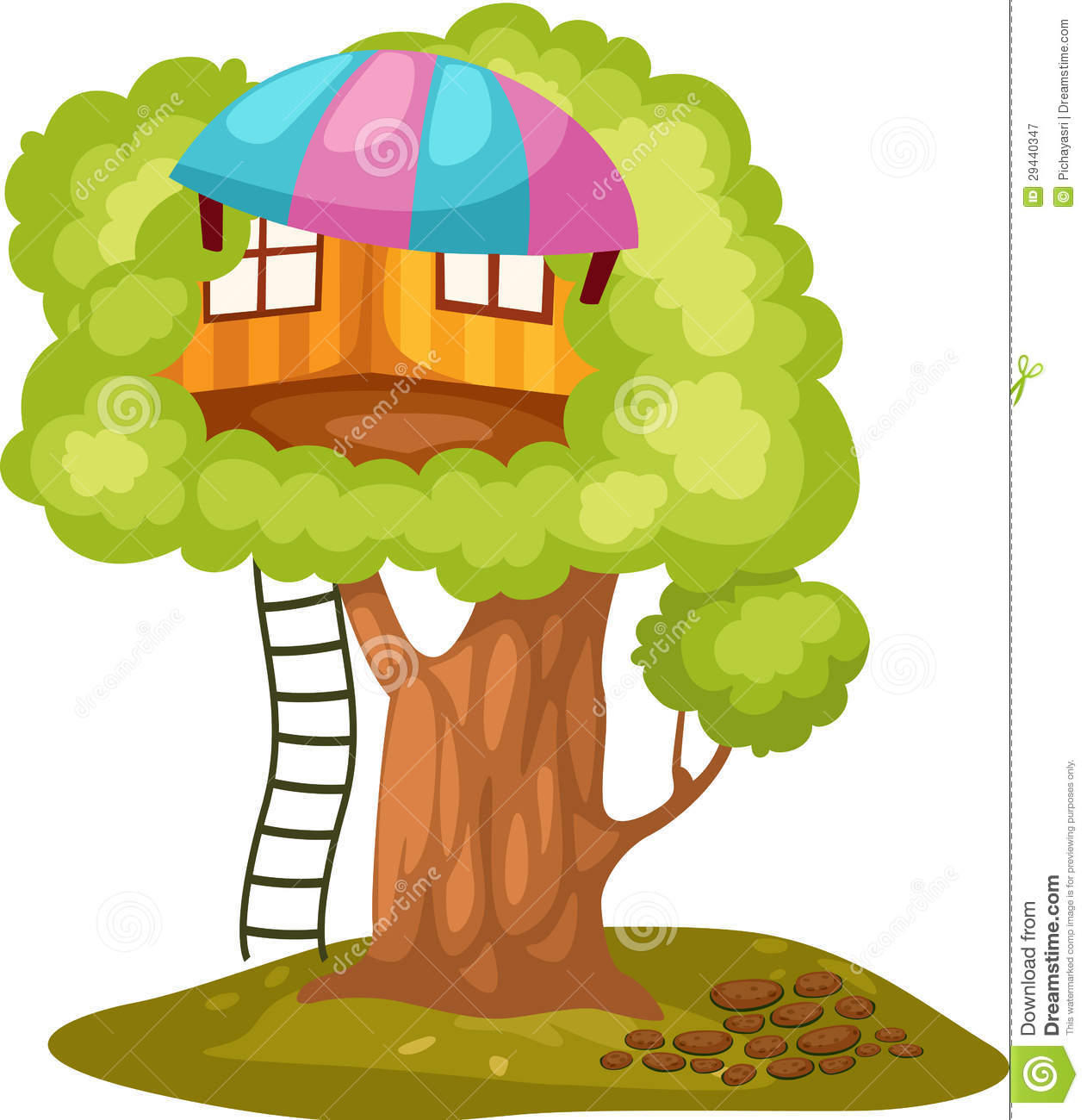 Treehouse Royalty Free Stock Photography - Image: 29440347