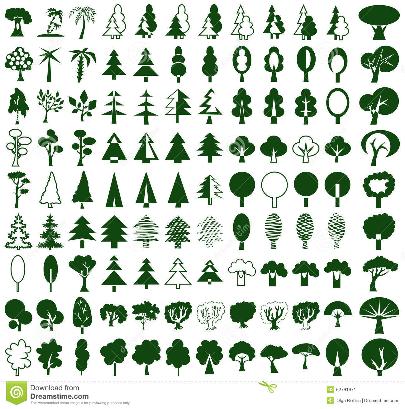 Outline Hollow Tree Stock Illustrations – 39 Outline Hollow Tree ...