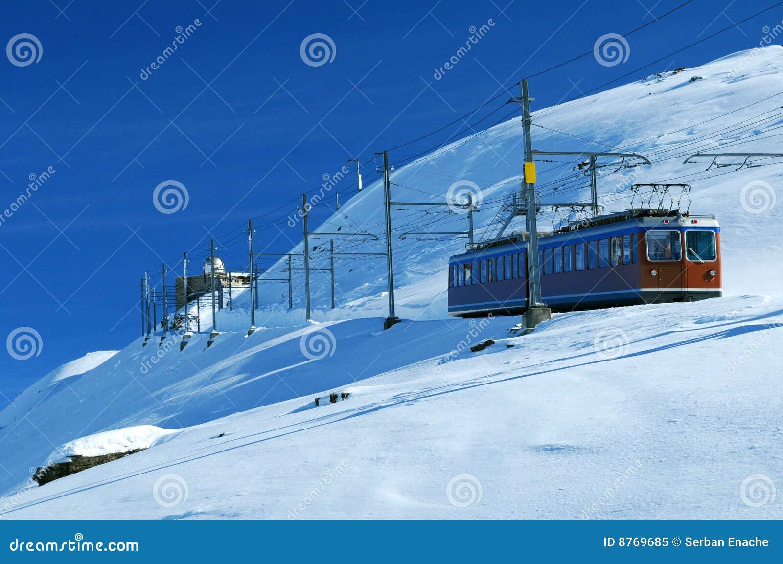 Trein in Zwitserland