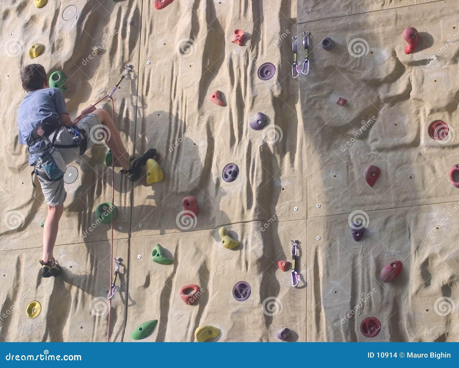 Treinamento de escalada