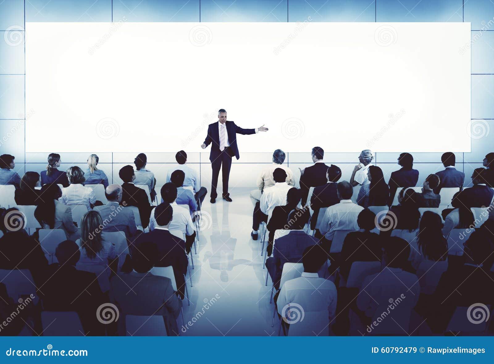 treinando o conceito do negócio da conferência da reunião do