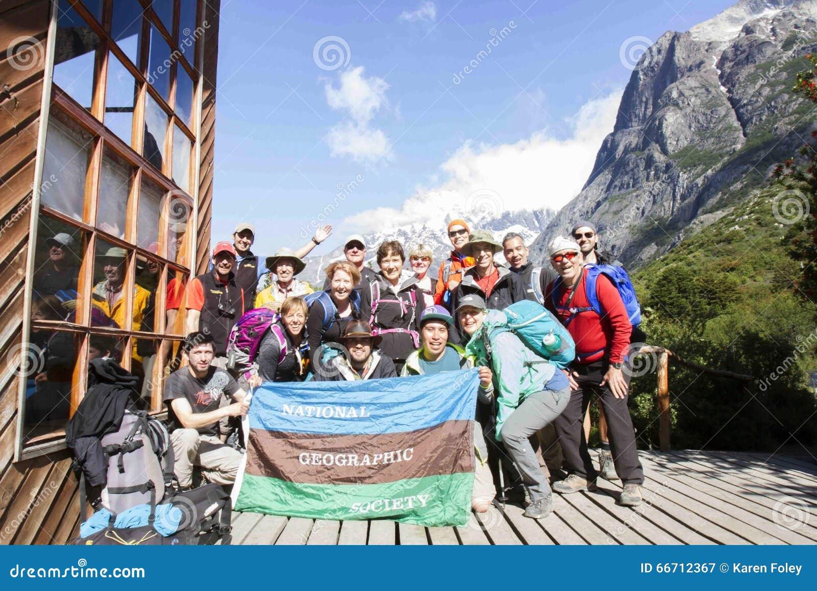 Trekking Патагония с национальное географическим