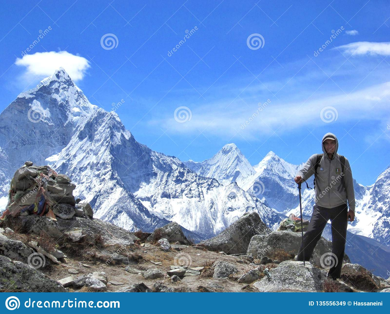 Trekking aan Everest-Basiskamp