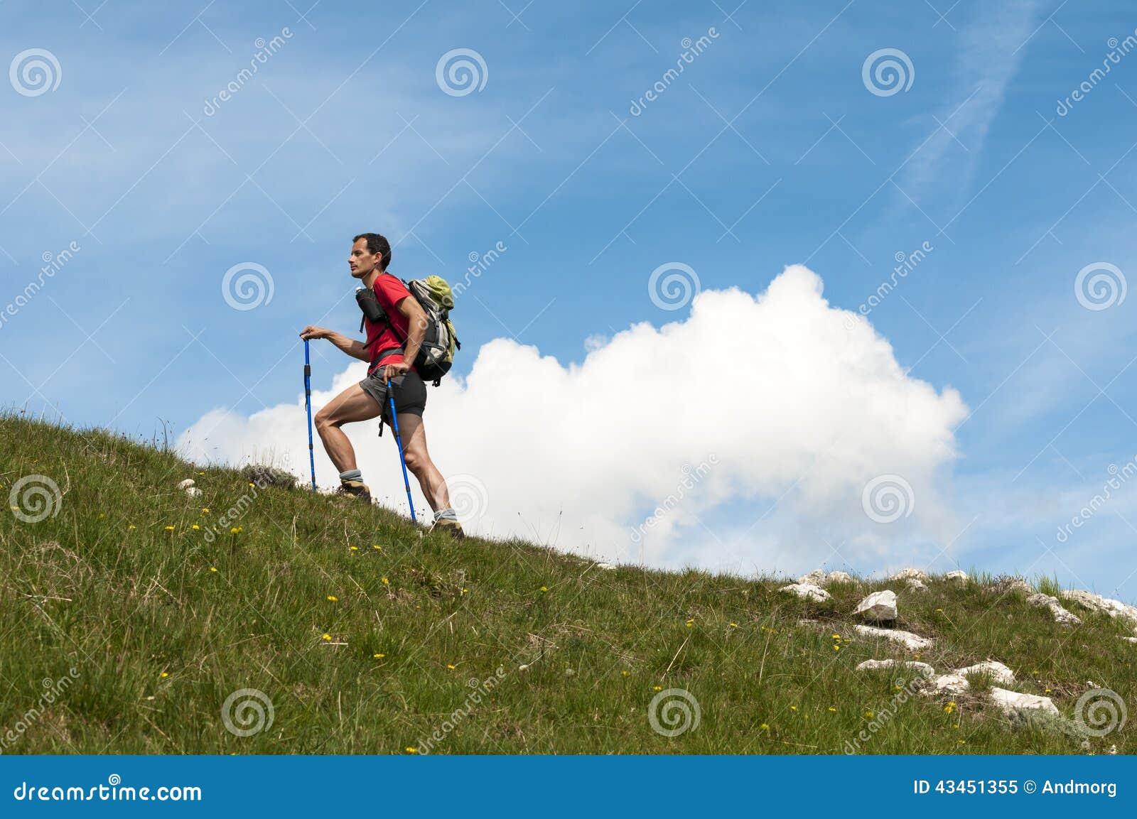 Trekking in den Alpen