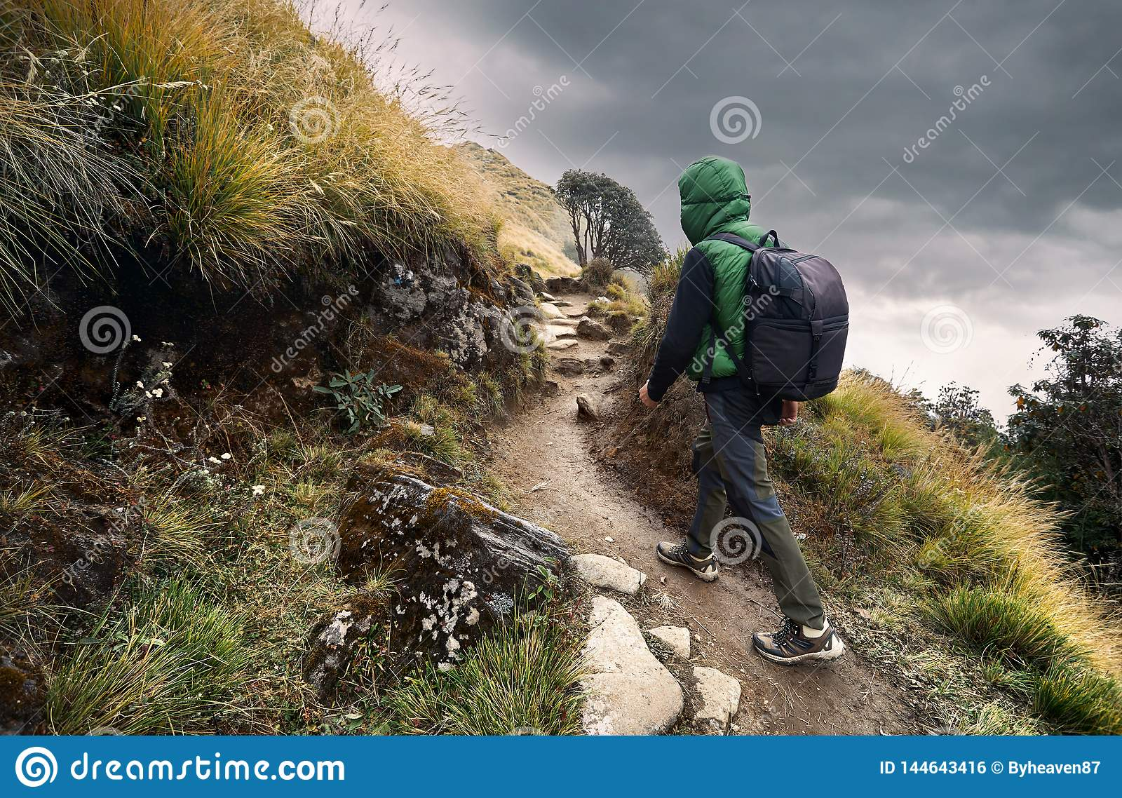 Trekking в горах Гималаев