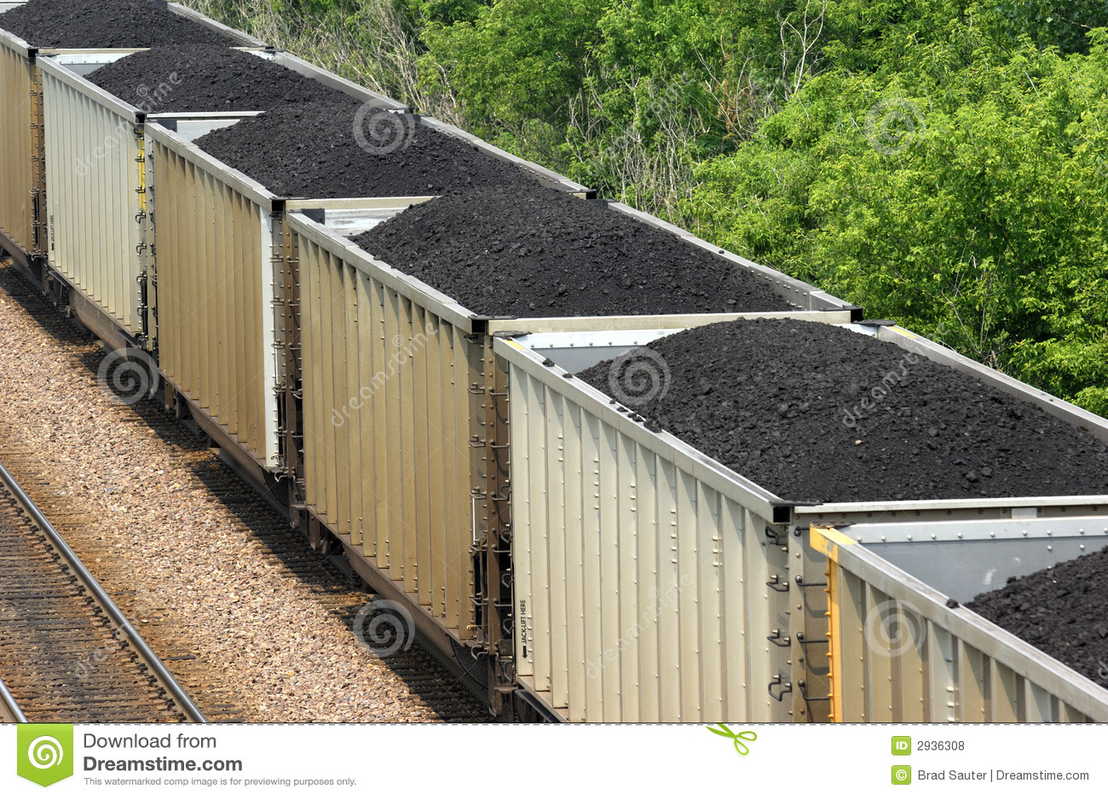 Trem de carvão