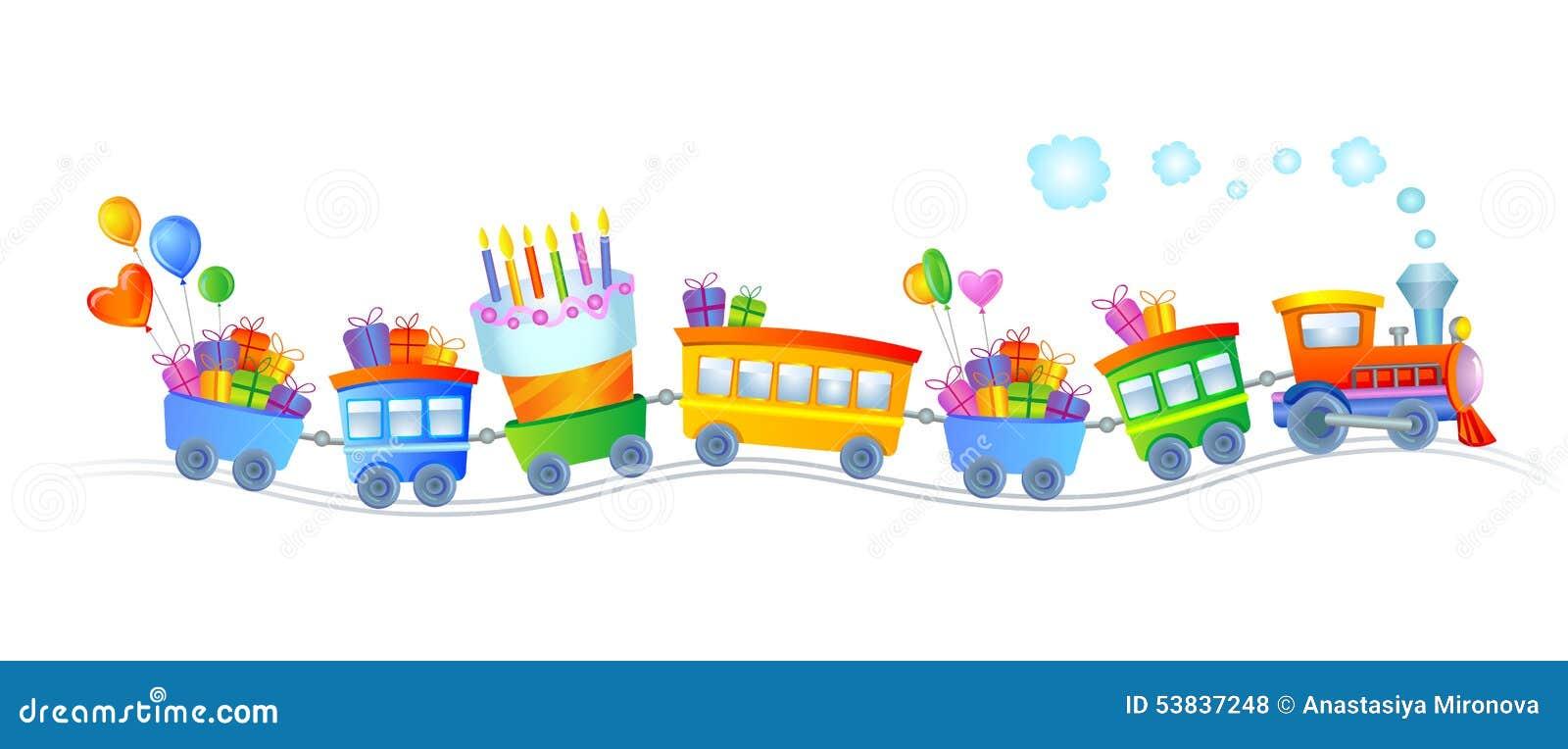 Trem do feliz aniversario