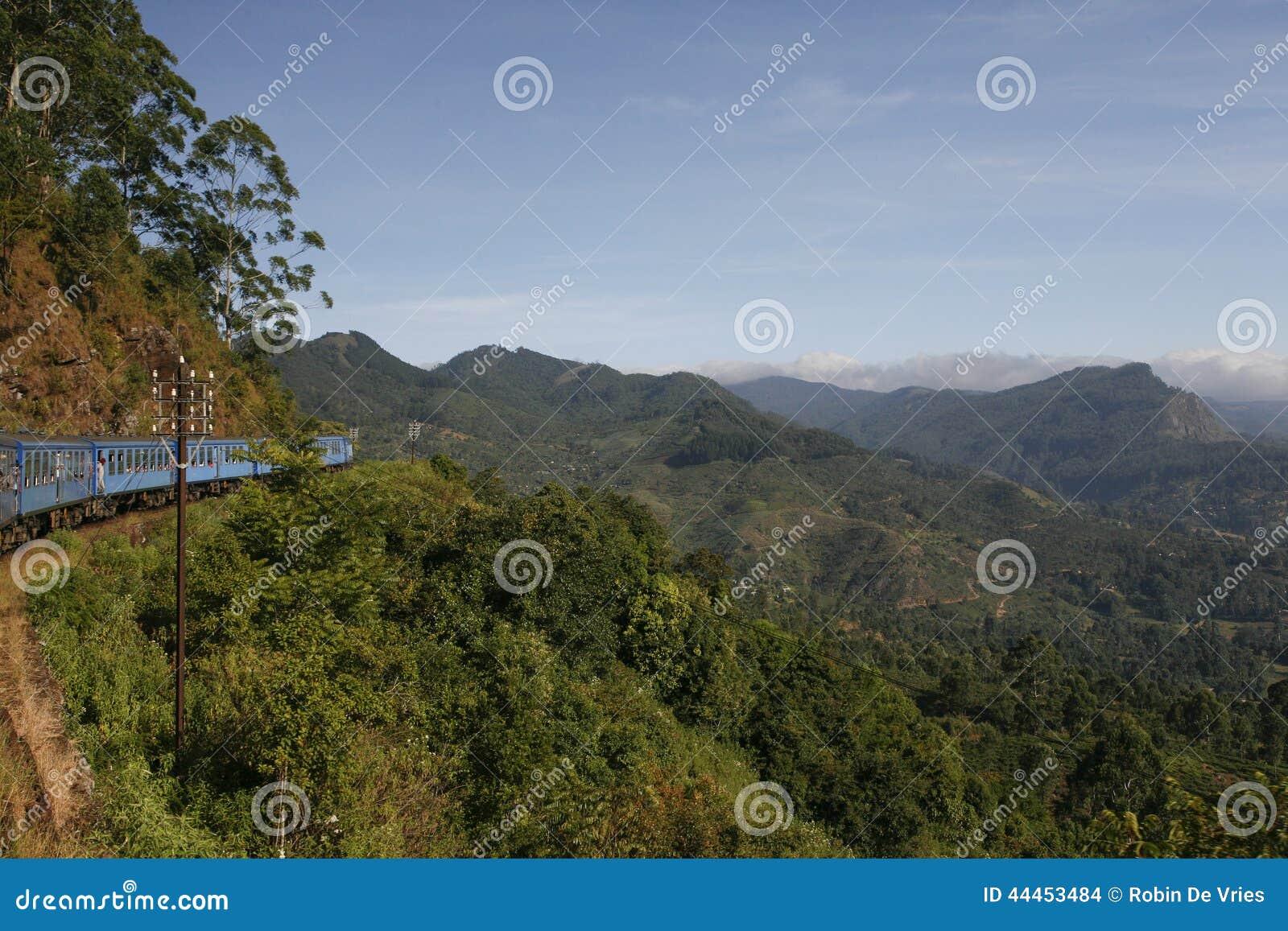 Trem no monte Counttry Sri Lanka